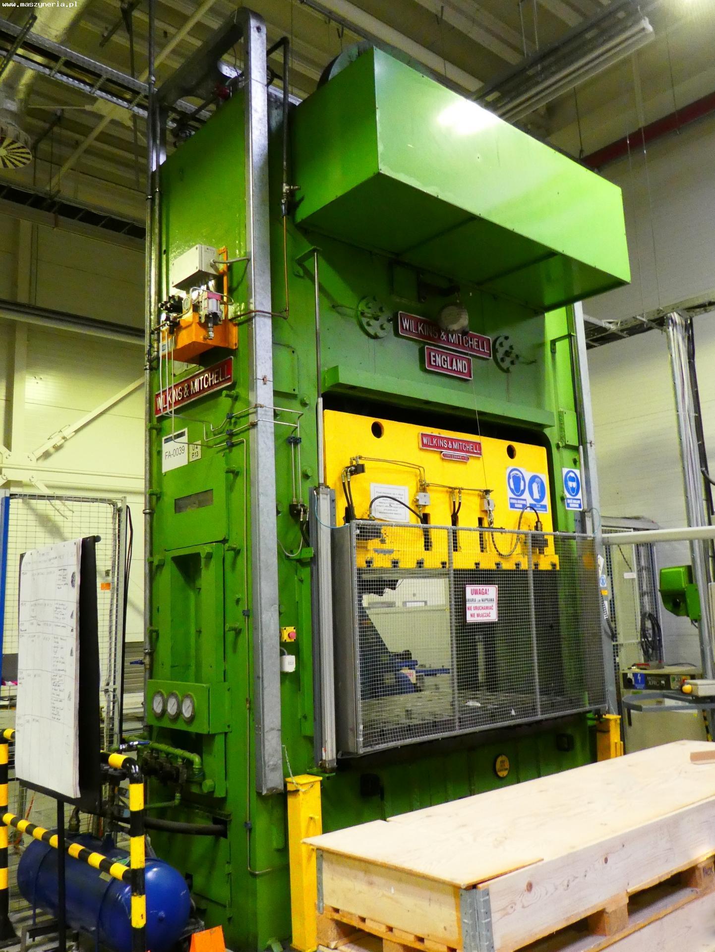 Pressa meccanica due montanti WILKINS MITCHELL E84-4-12 in vendita - foto 1