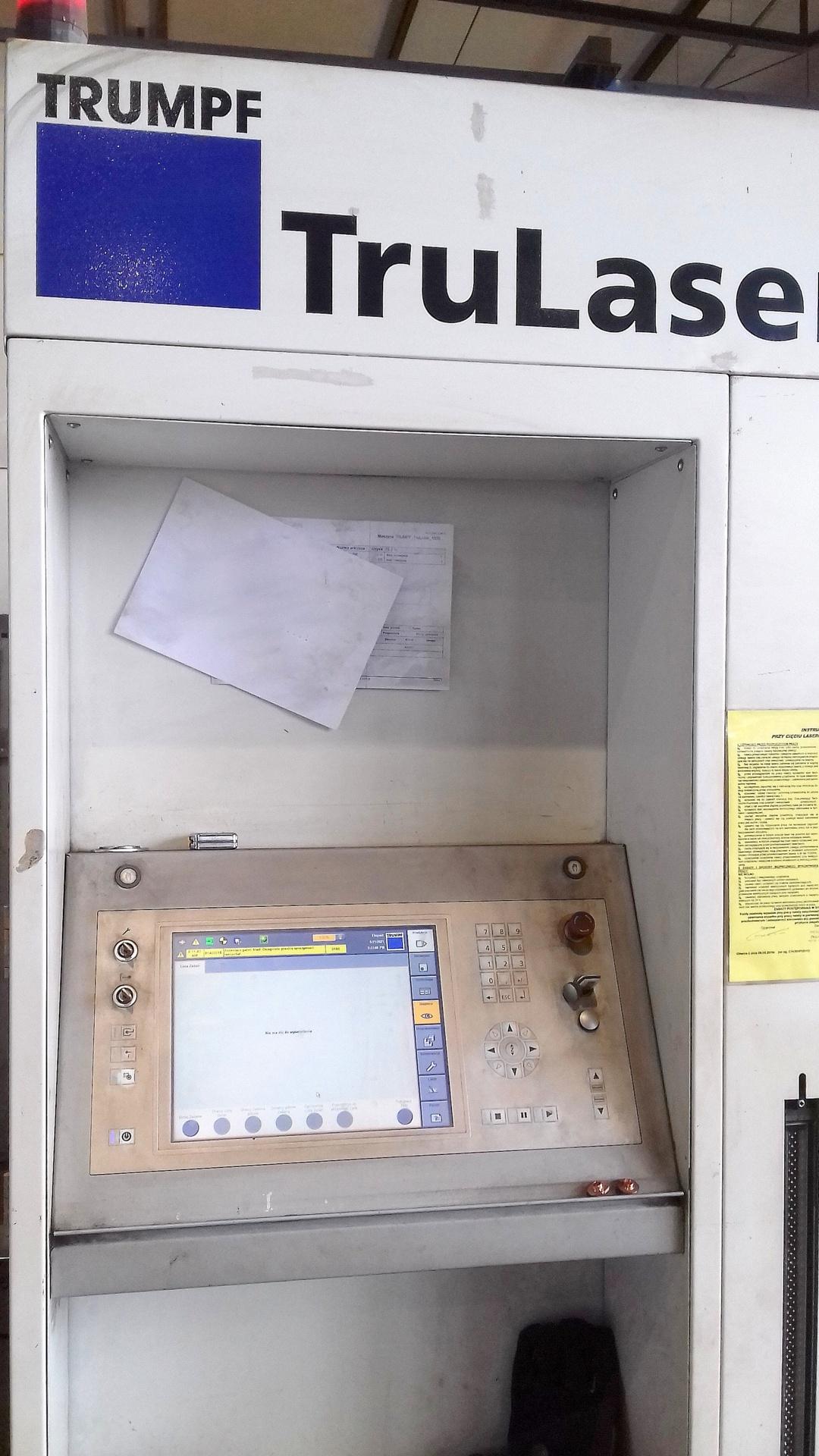Macchina taglio laser TRUMPF TRULASER 1030 FIBER in vendita - foto 2
