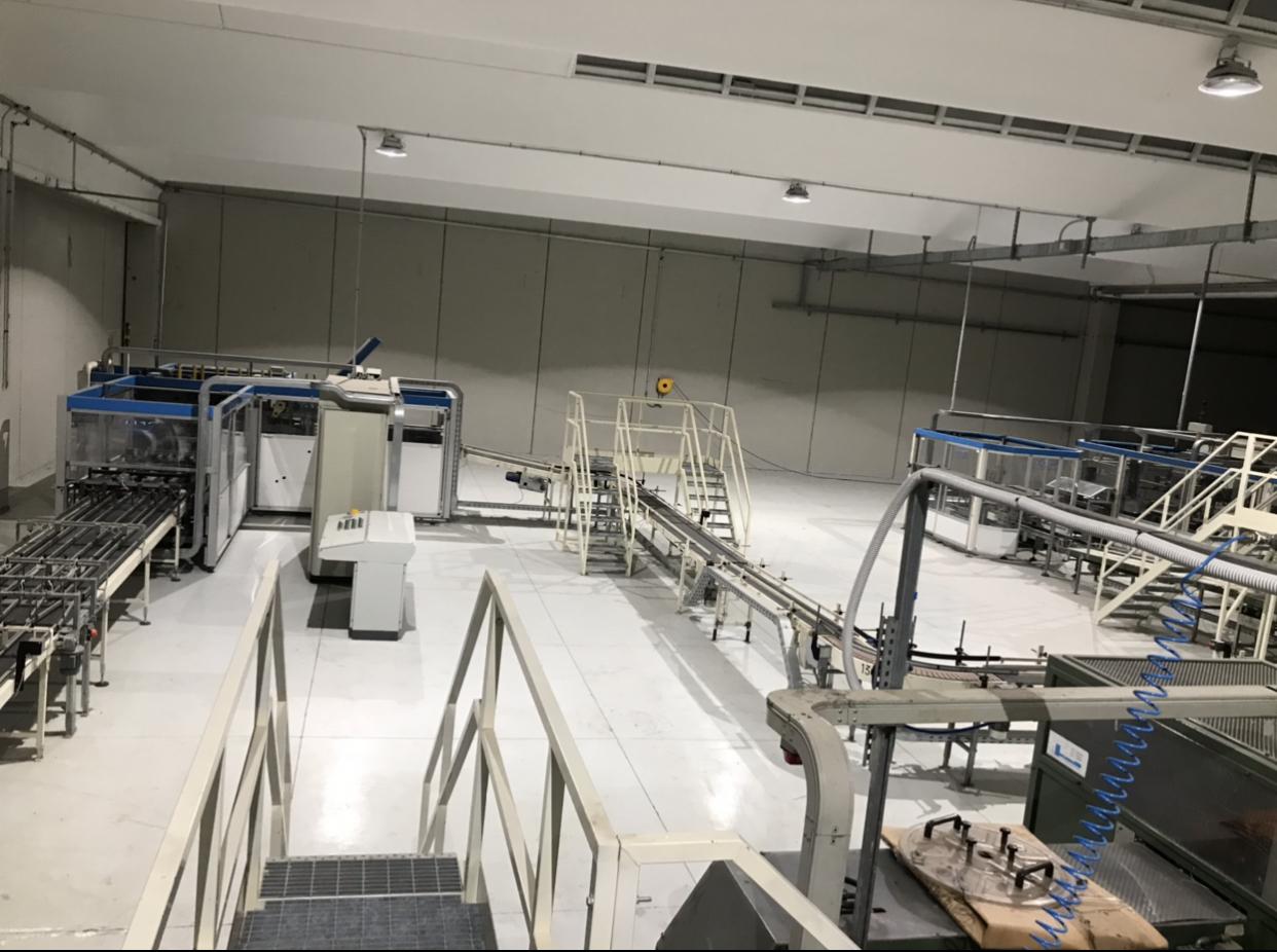 Linea completata produzione carta igienica in vendita - foto 3