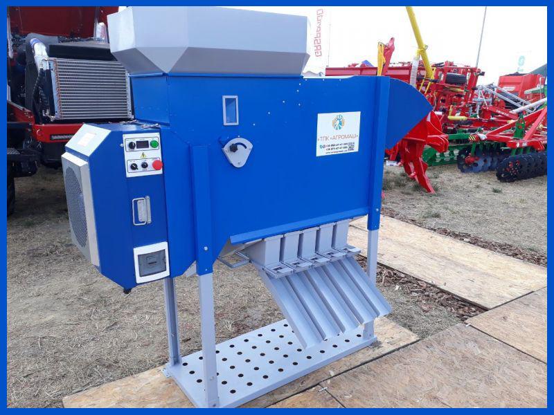Pulitore Calibratore per Sementi e Cereali ASM 5 t/h in vendita - foto 1
