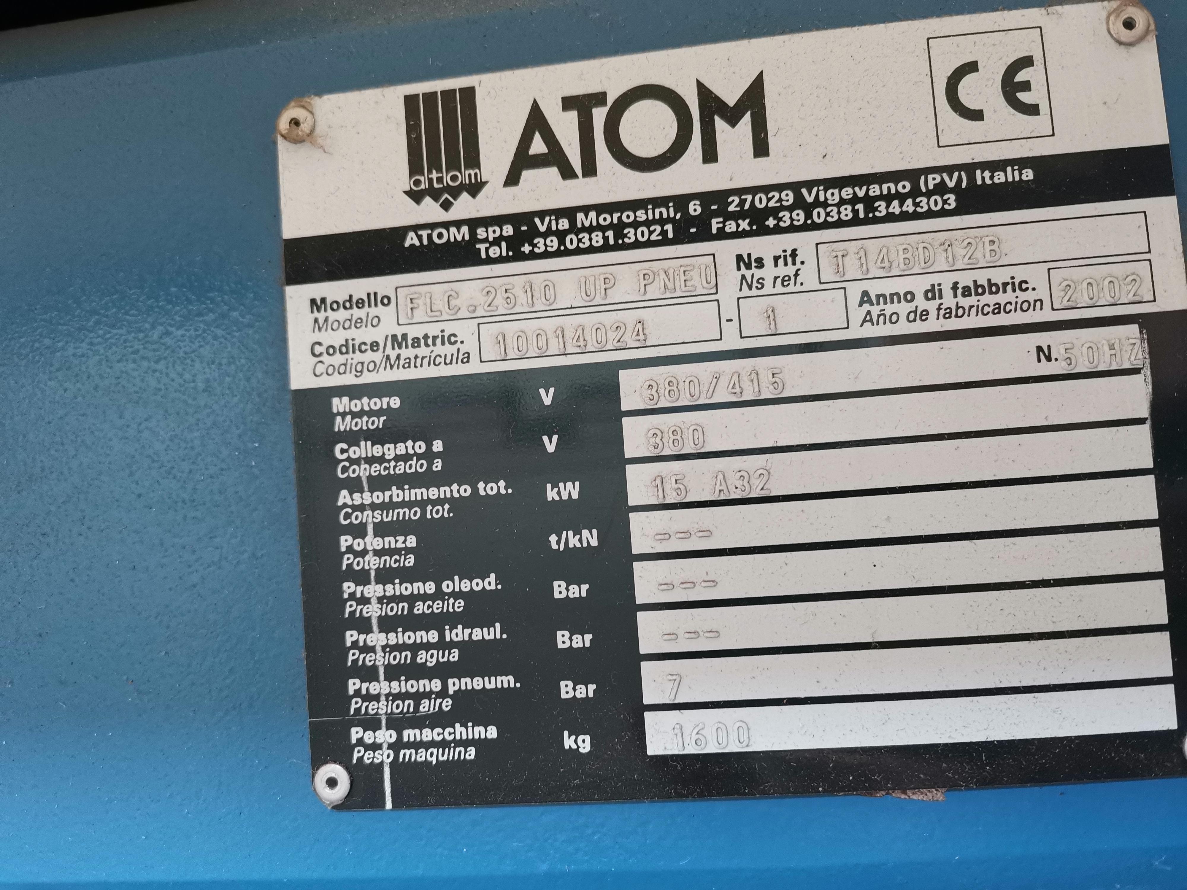 Atom flash cut 2510 in vendita - foto 2