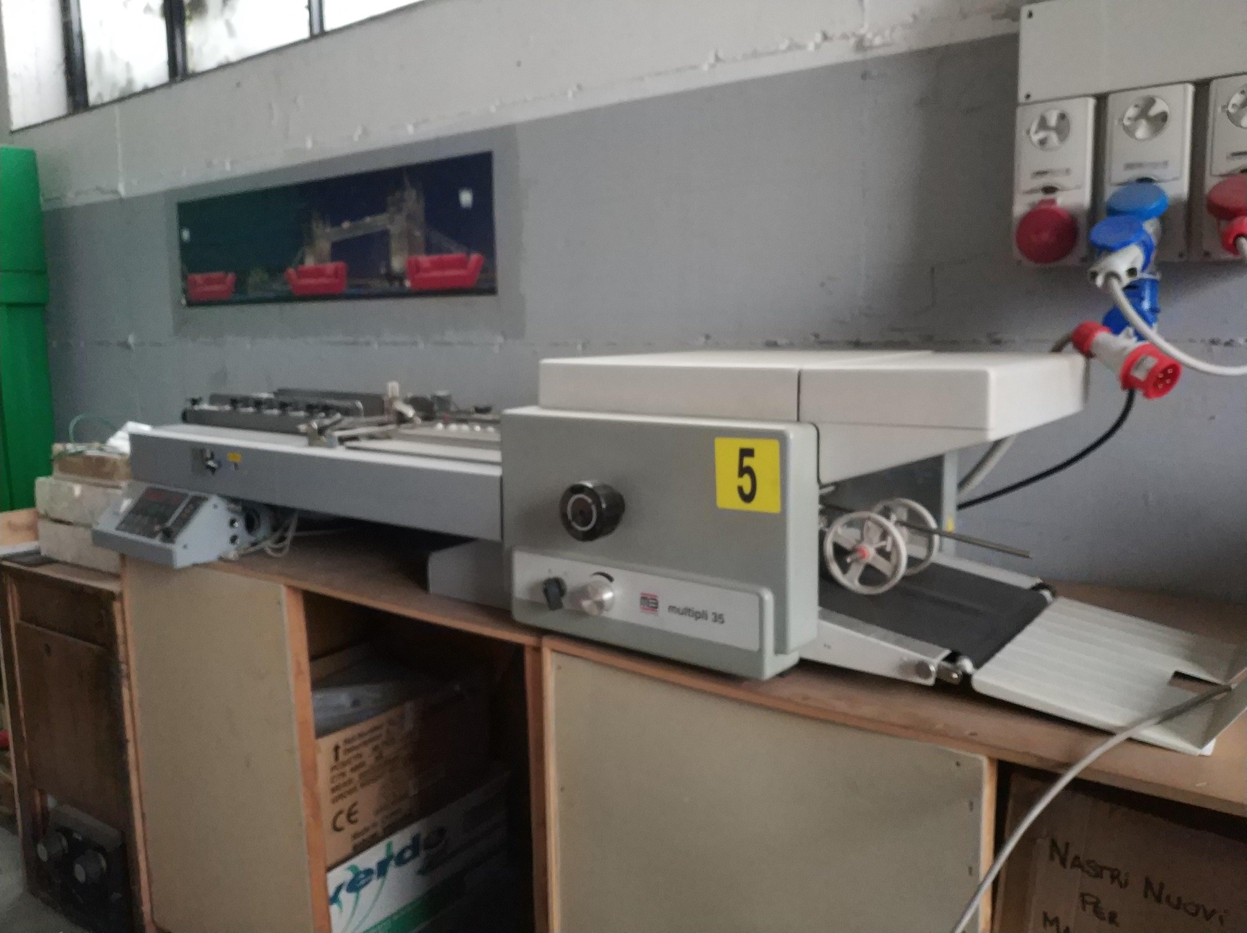 Piegatrice MB Multipli 35/2 PBA in vendita - foto 2