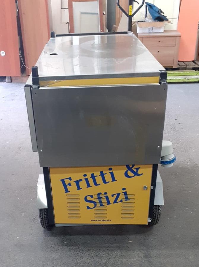 Carretto da street food con frigo integrato in vendita - foto 3