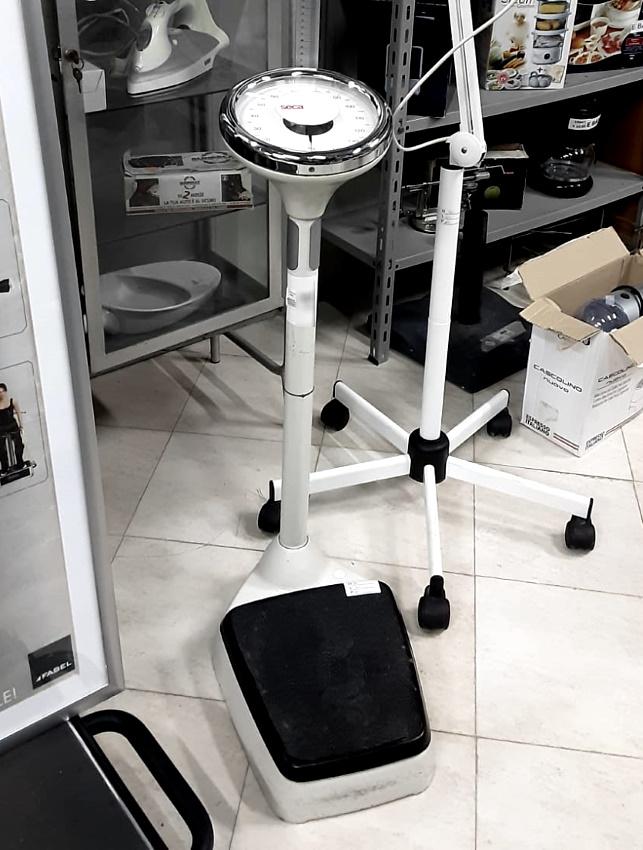Bilancia pesapersone meccanica a colonna in vendita - foto 1