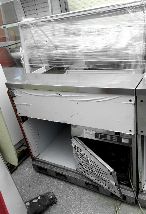 Vetrina fredda espositiva marca BRX in vendita - foto 3