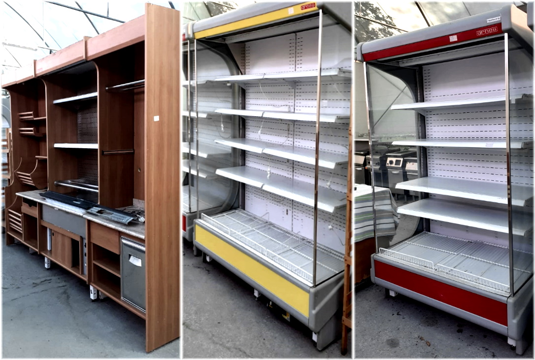Retrobanco e 2 murali refrigerati ARNEG in vendita - foto 1