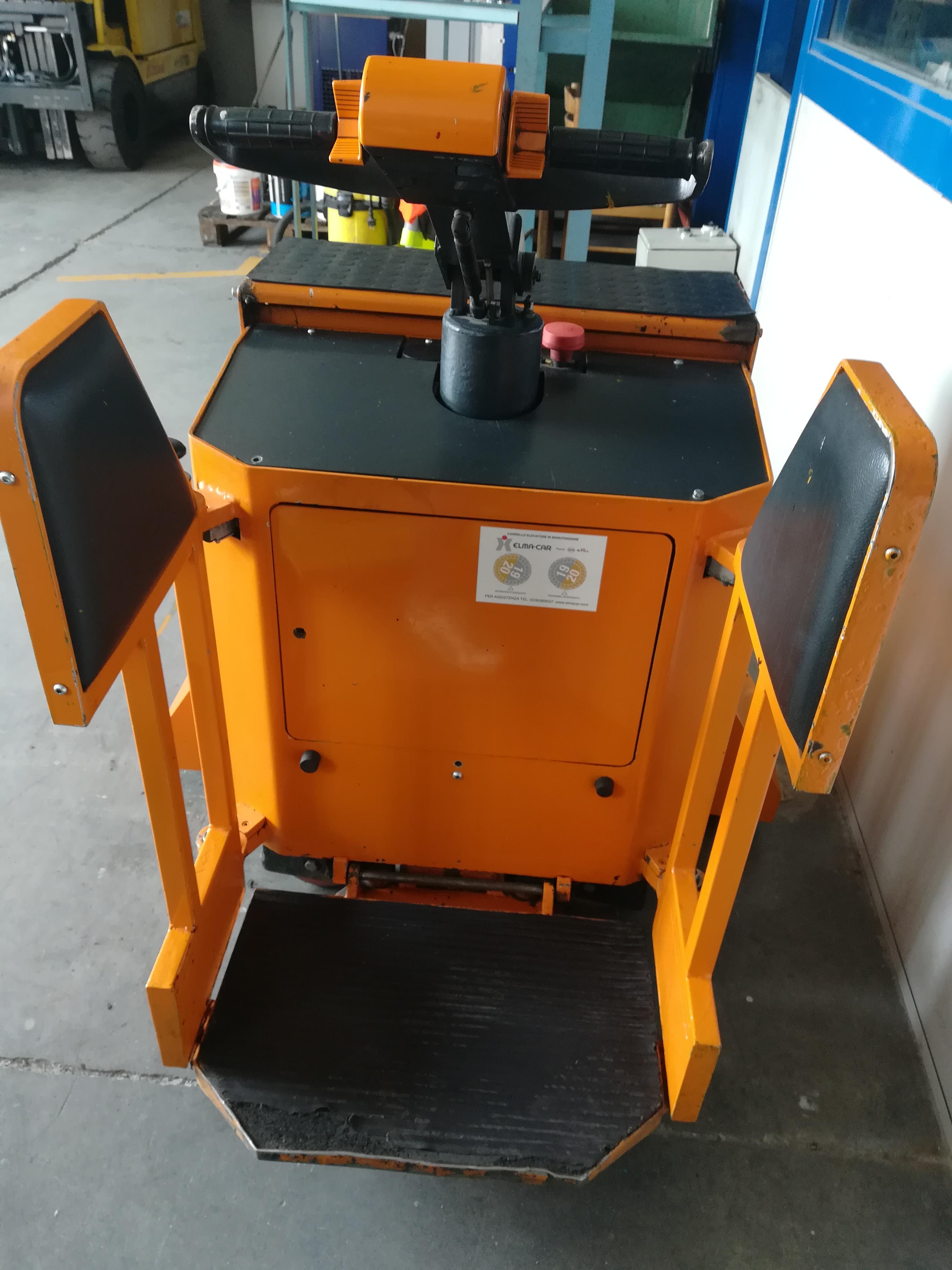 Transpallet elettrico per bobine in vendita - foto 4