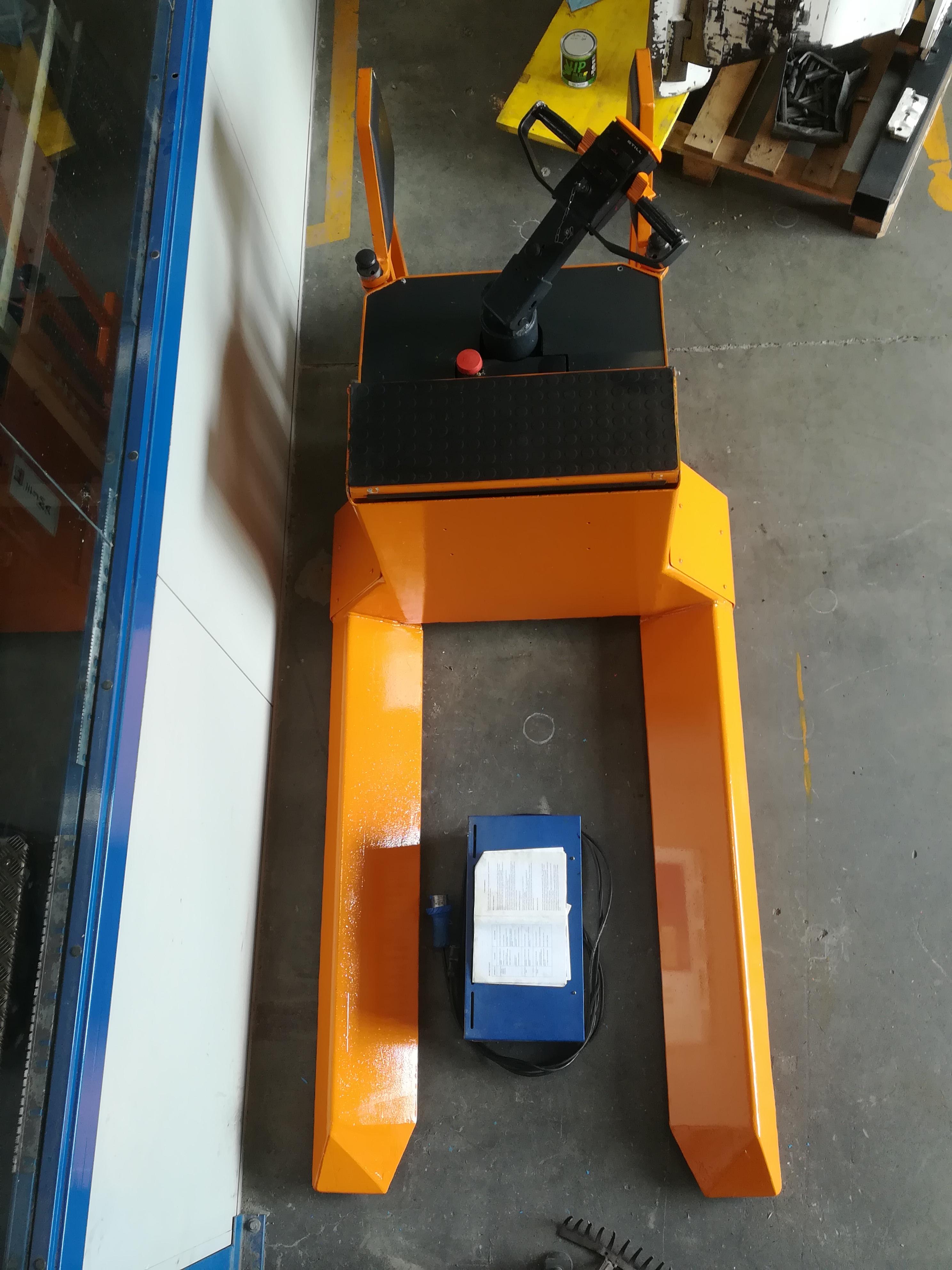 Transpallet elettrico per bobine in vendita - foto 2