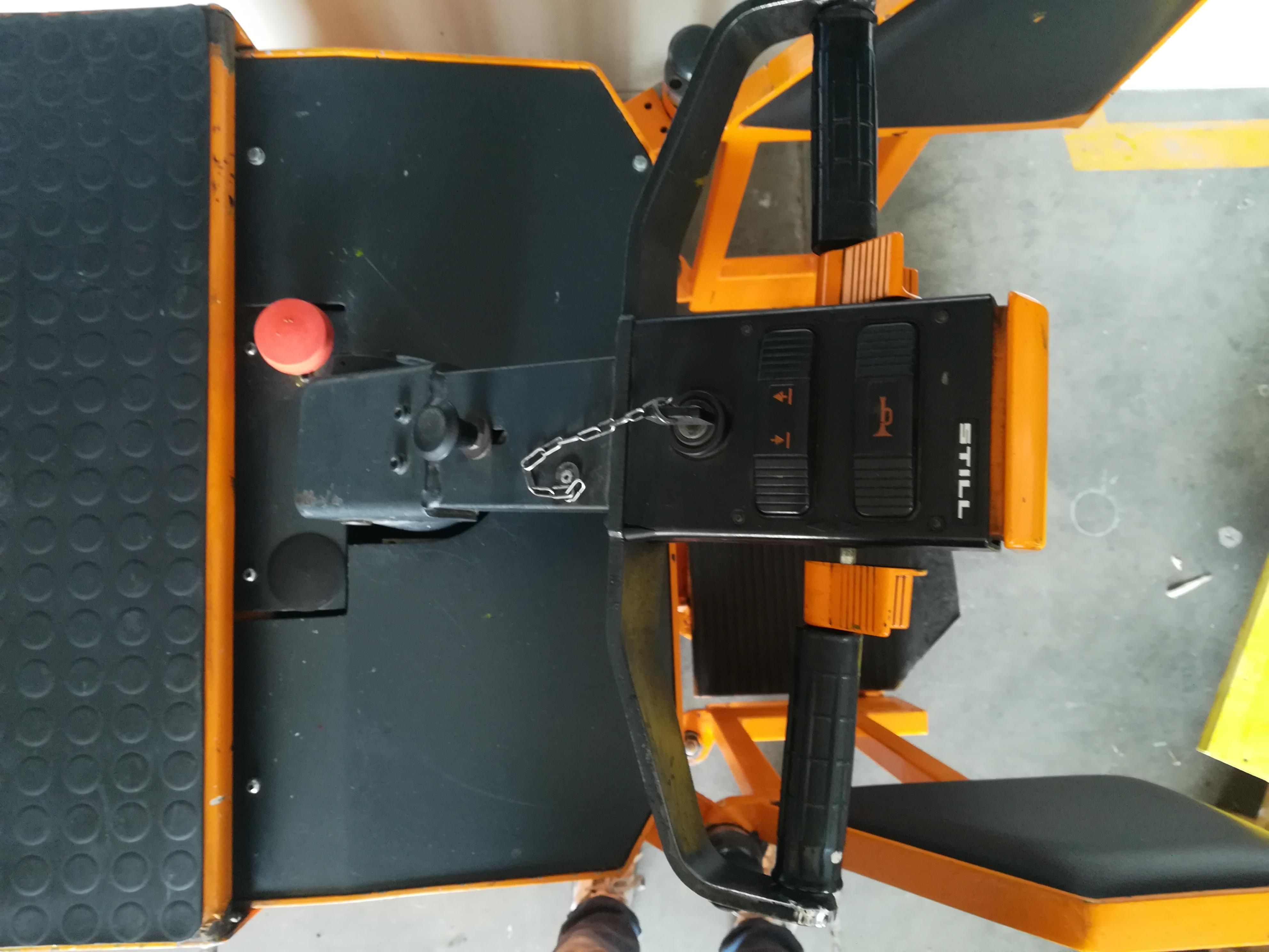 Transpallet elettrico per bobine in vendita - foto 3