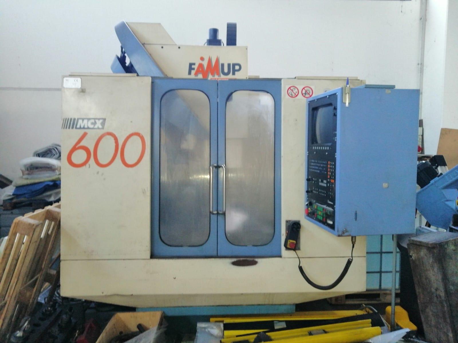 CENTRO LAVORO USATO – FAMUP - MODELLO MCX 600 in vendita - foto 1