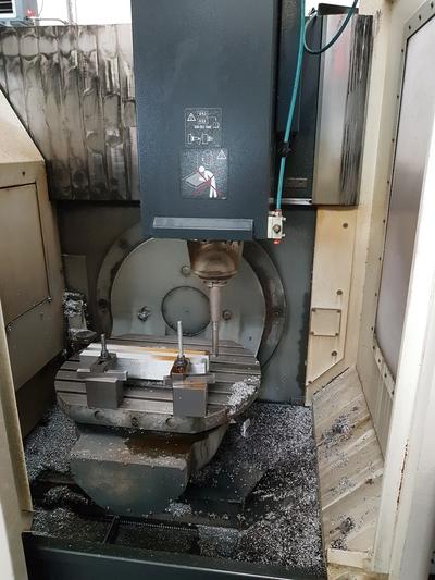 Centri di lavoro verticale DMU 50 Eco in vendita - foto 4