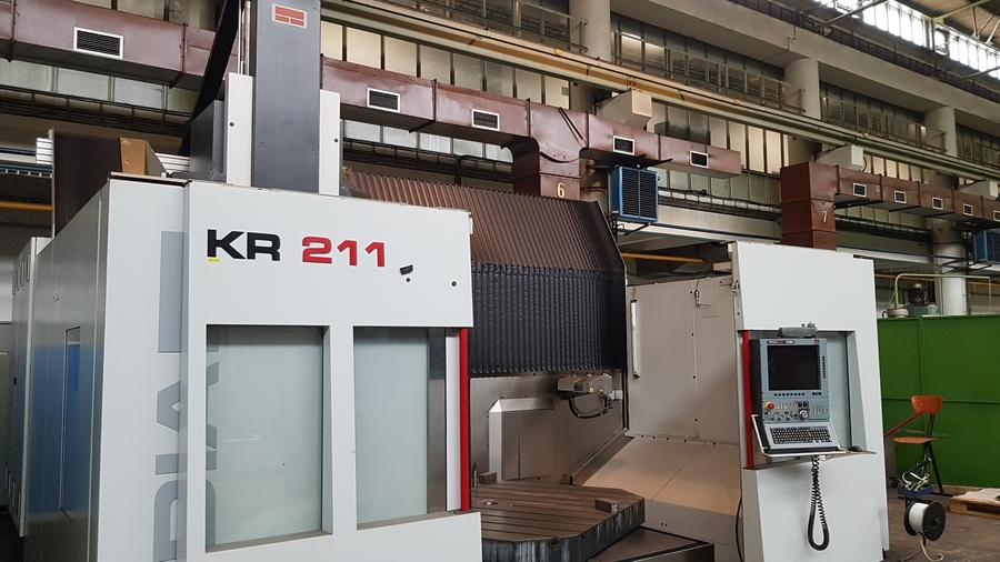 Centri di lavoro verticale FIDIA KR 211 in vendita - foto 4