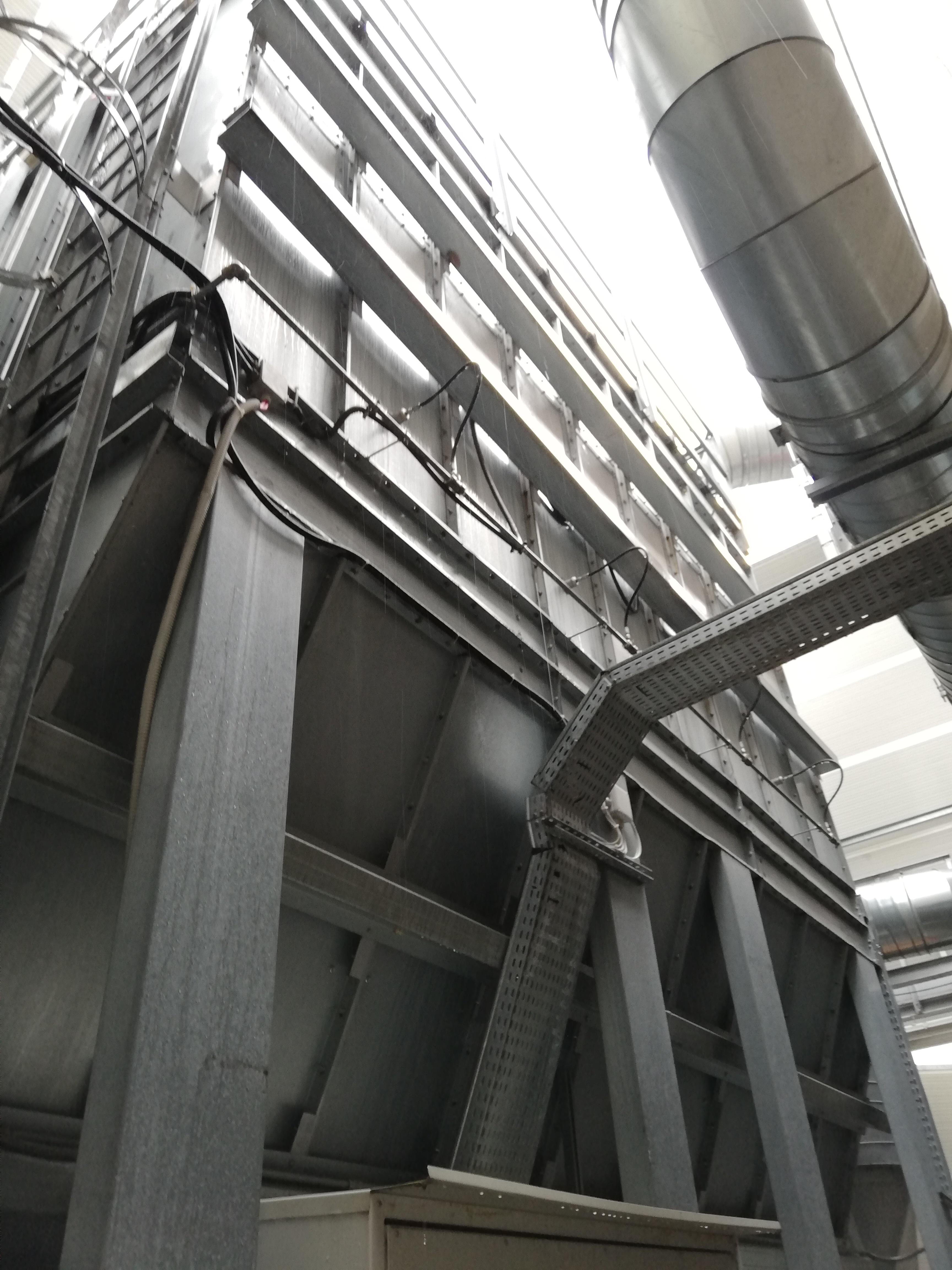 Impianto di aspirazione e filtrazione polveri  in vendita - foto 4