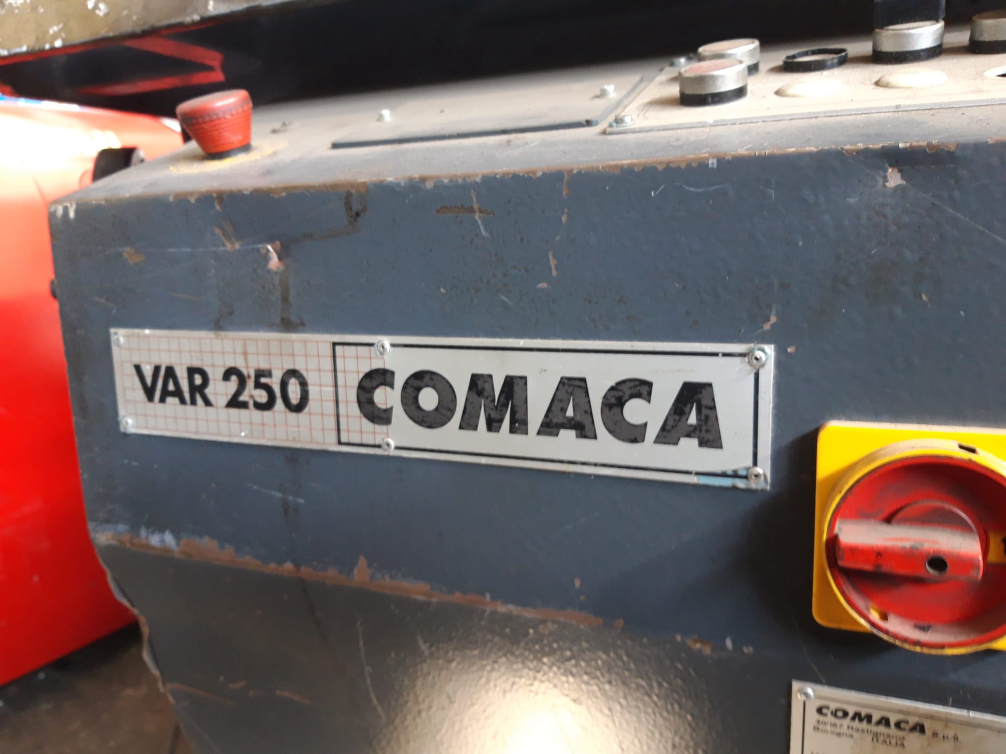 Scantonatrice idraulica Comaca var 250 in vendita - foto 4