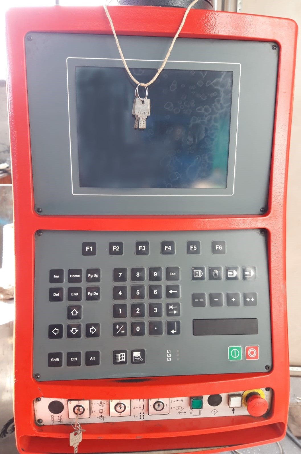 Piegatrice idraulica Beyeler Pr 10 3100 mm x 150 ton in vendita - foto 6