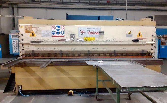 Cesoia idraulica FARINA 4000 x 8/10 mm in vendita - foto 1