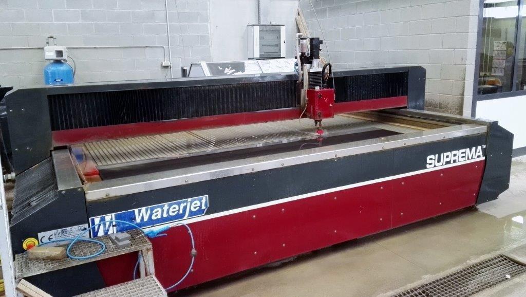 Impianto di taglio con getto d'acqua Suprema DX 510 in vendita - foto 3