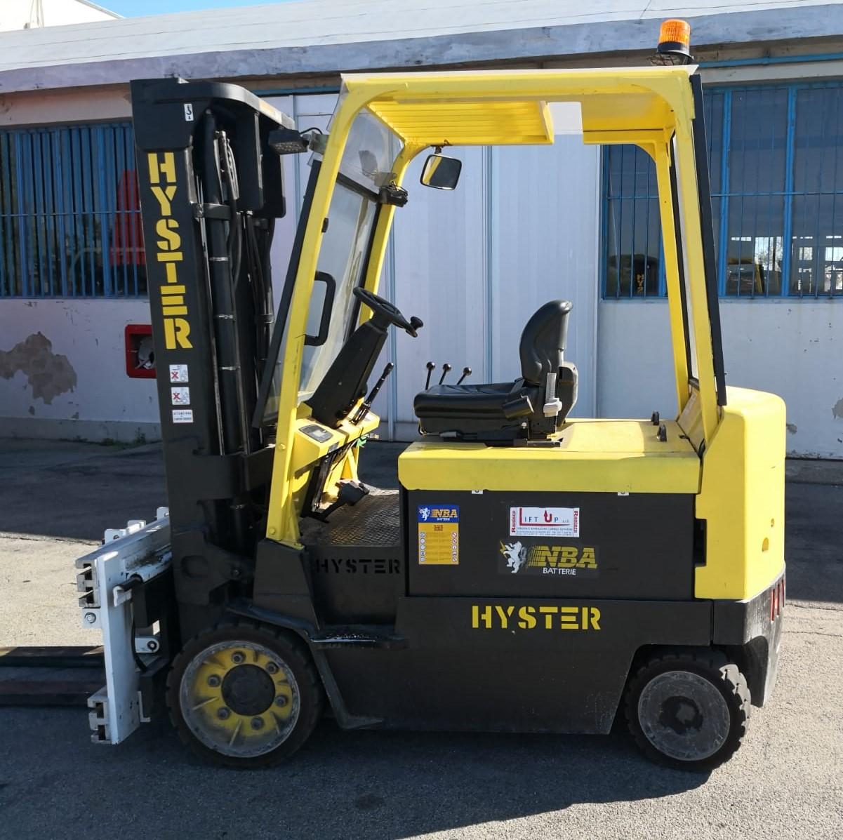 Carrello elevatore elettrico Hyster mod E 4.00 xl in vendita - foto 4