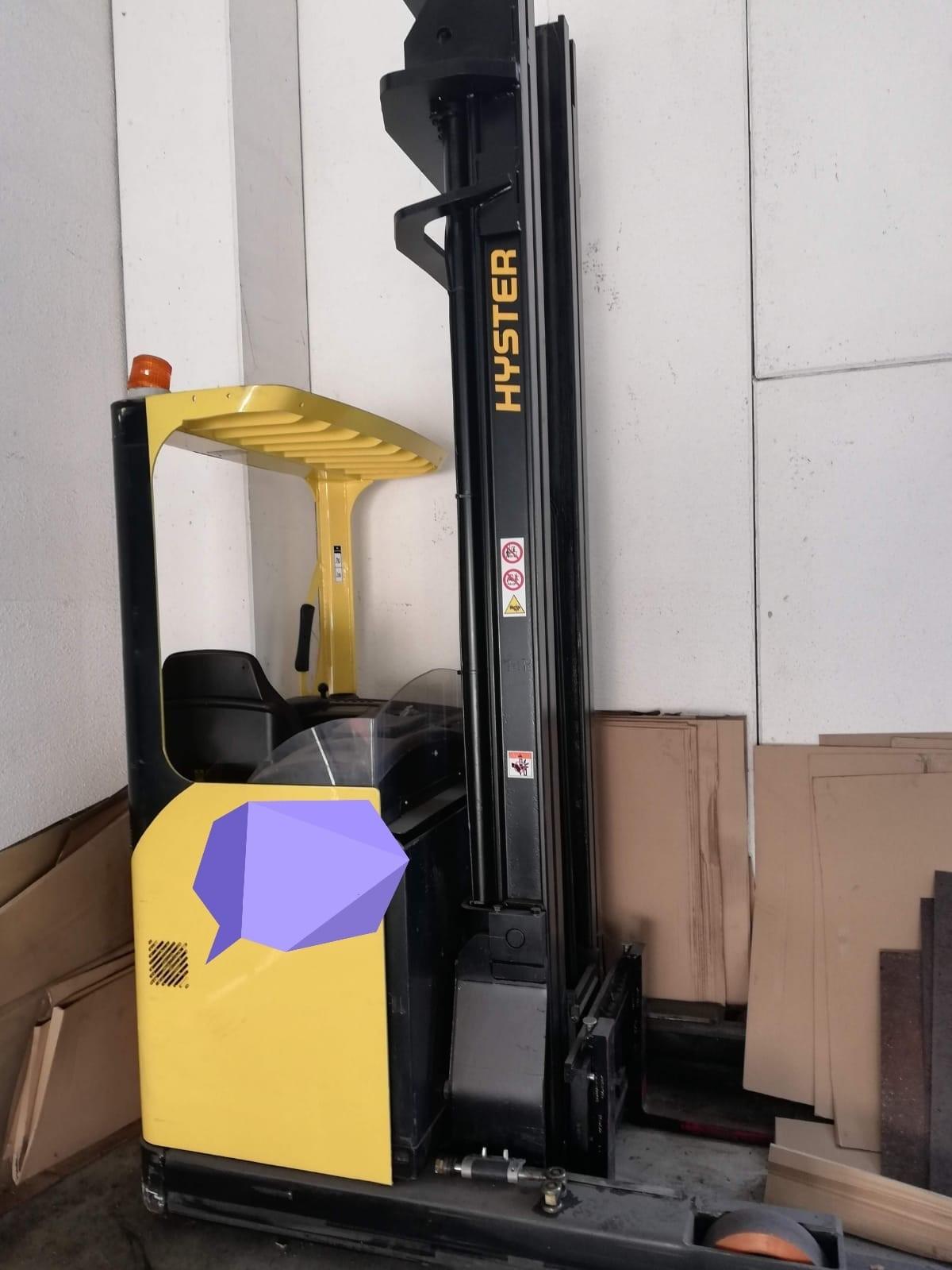 Carrello elevatore retrattile hyster  Modello r 1.4 in vendita - foto 1