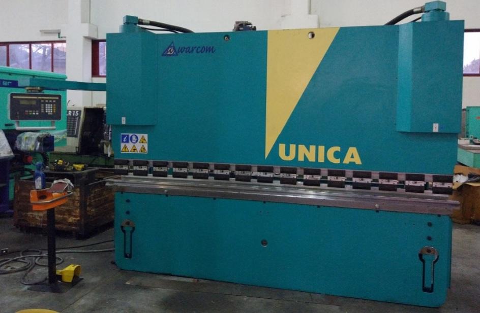 Piegatrice idraulica Warcom unica 3000 x 100 ton in vendita - foto 1