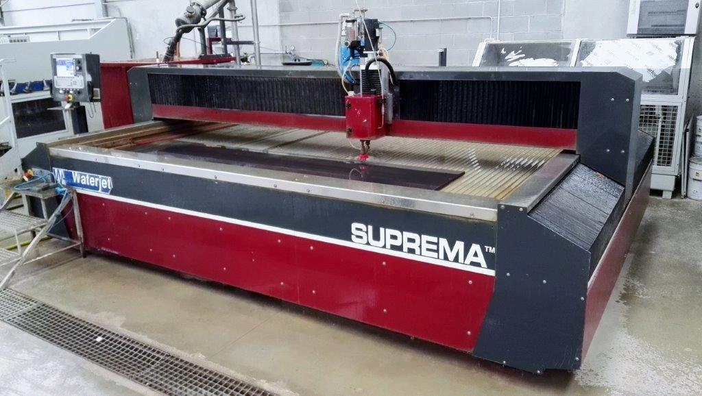 Impianto di taglio con getto d'acqua Suprema DX 510 in vendita - foto 5