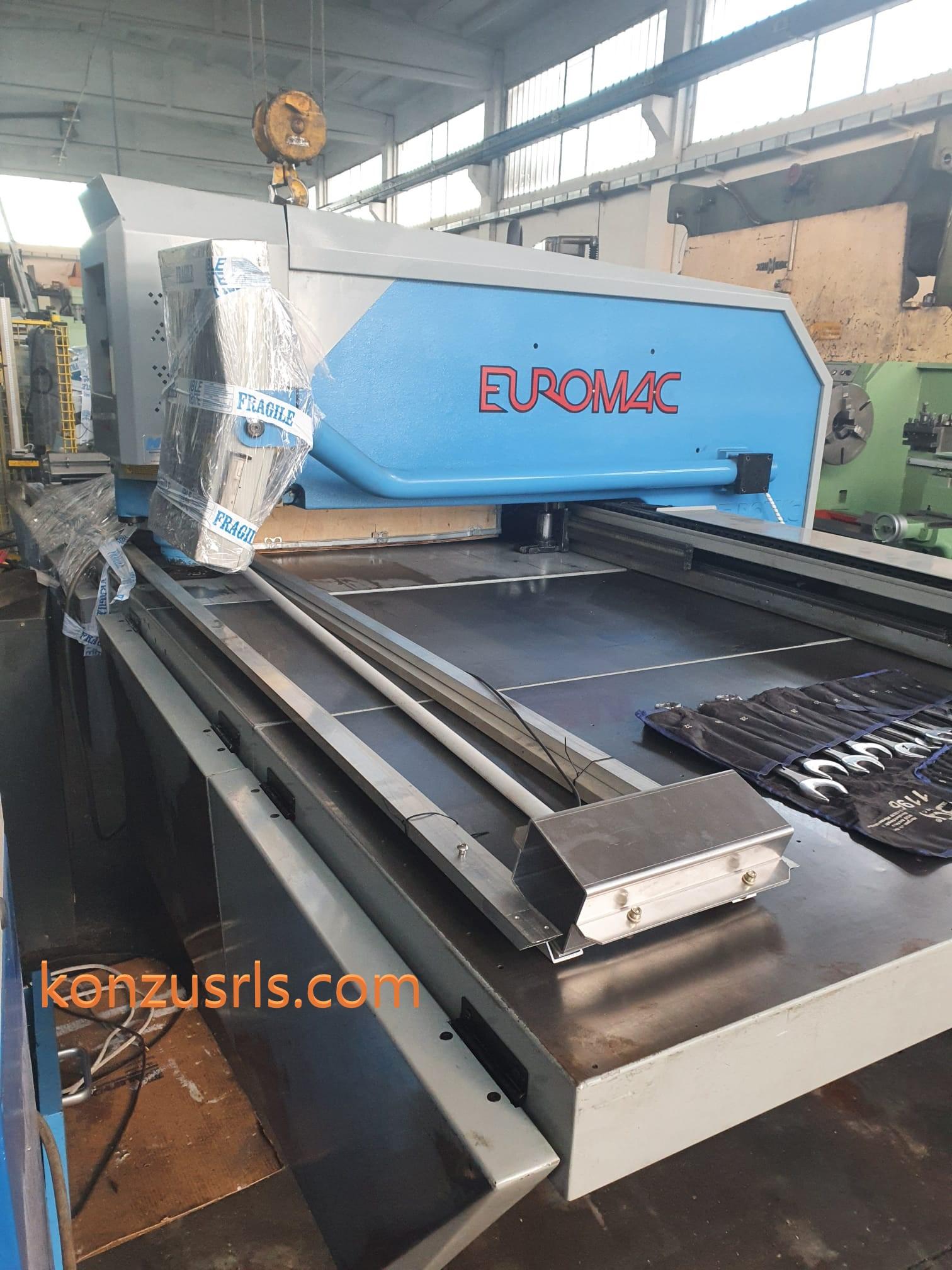 Punzonatrice CNC Euromac modello ZX 1000/30 in vendita - foto 1