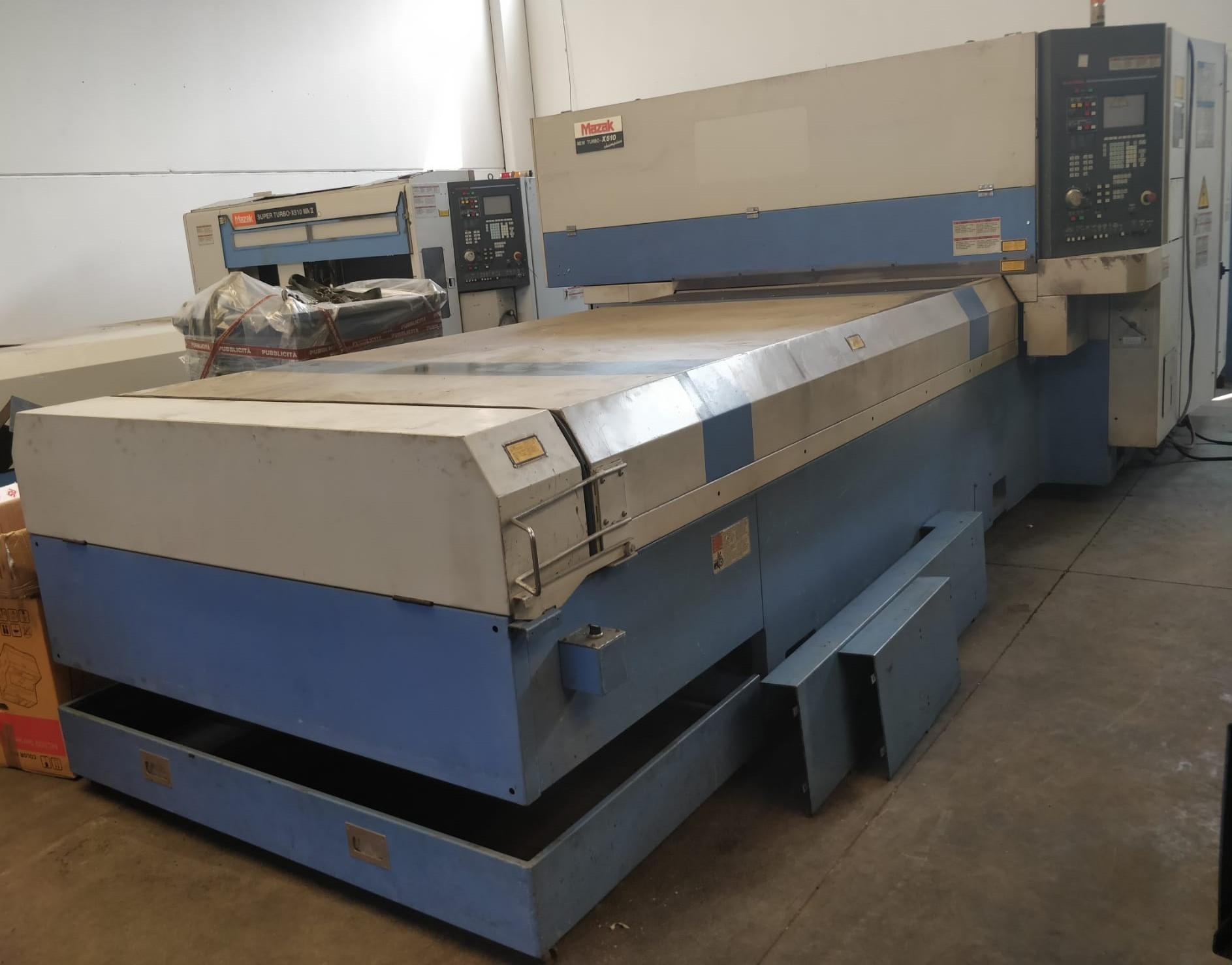 Taglio laser Mazak New Turbo X 510 in vendita - foto 1