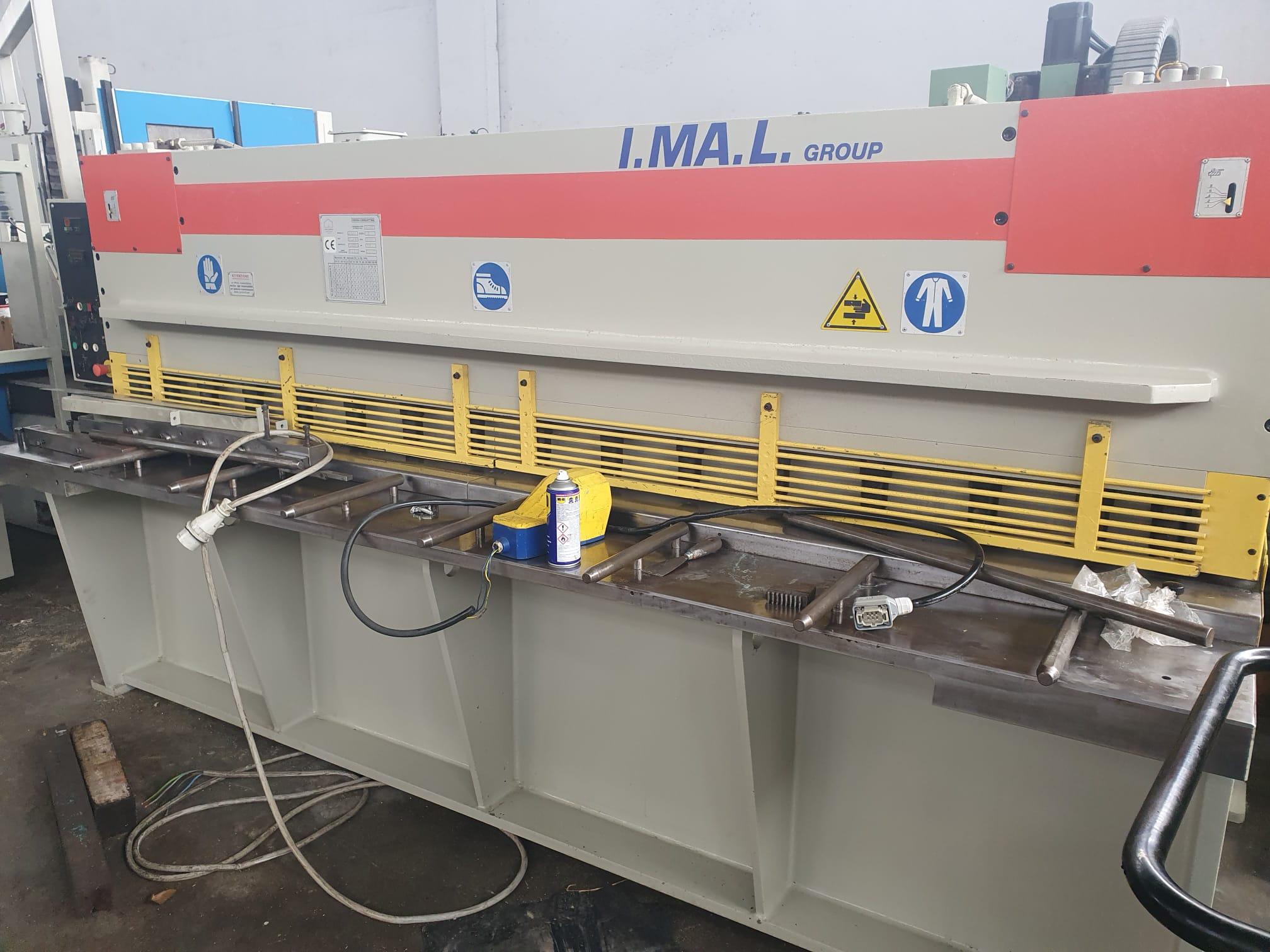 Cesoia idraulica IMAL mod. CCOSI 3000 mm x 6 mm in vendita - foto 4