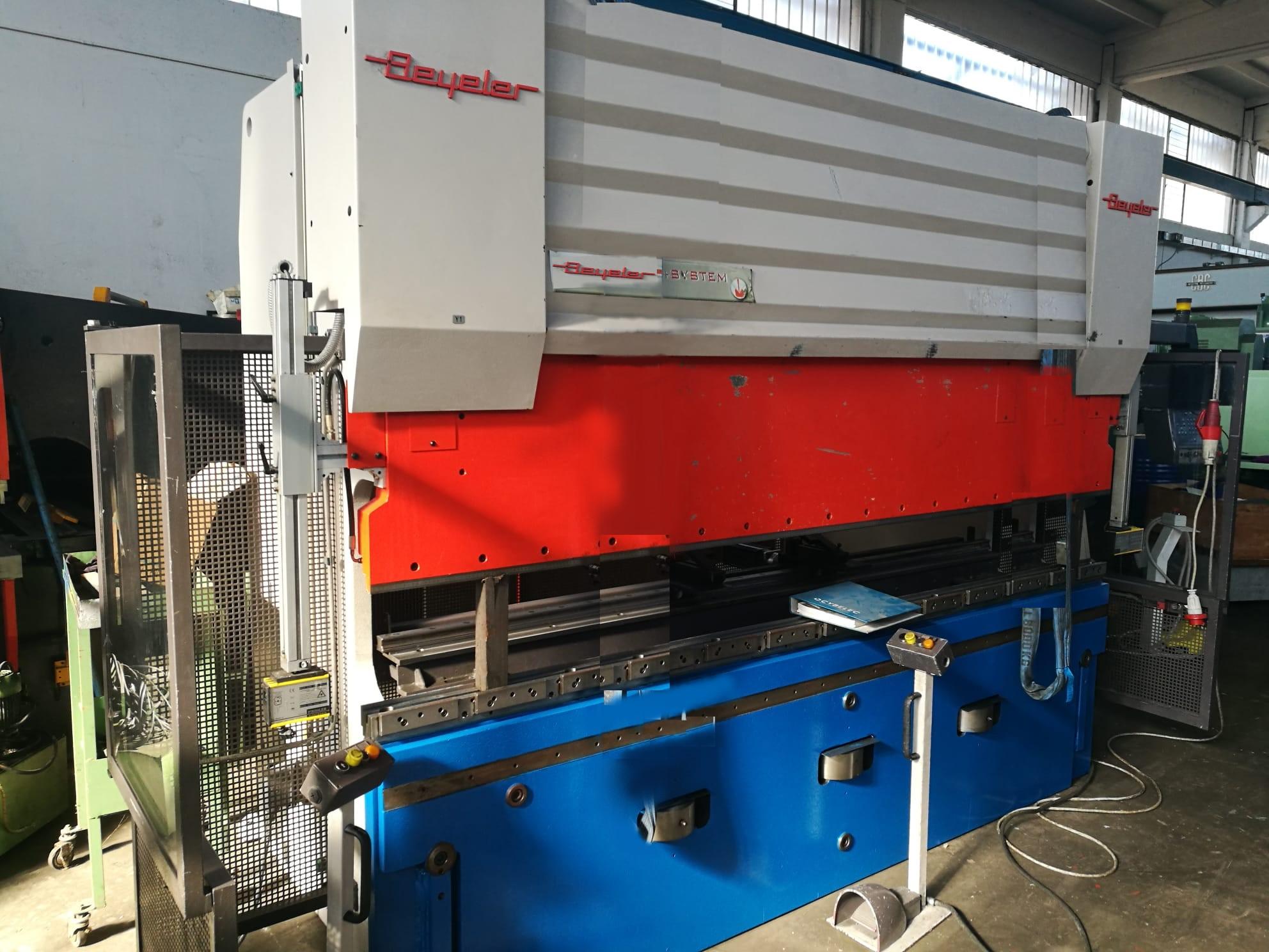 Piegatrice Beyeler pr 6 3100 mm x 100 ton 8 assi in vendita - foto 7