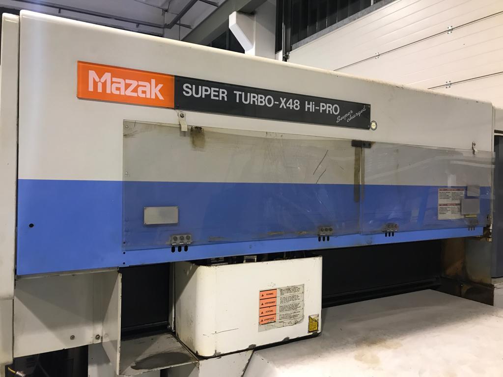 Taglio laser Mazak Super Turbo-X 48 Hi-Pro supercharged in vendita - foto 5