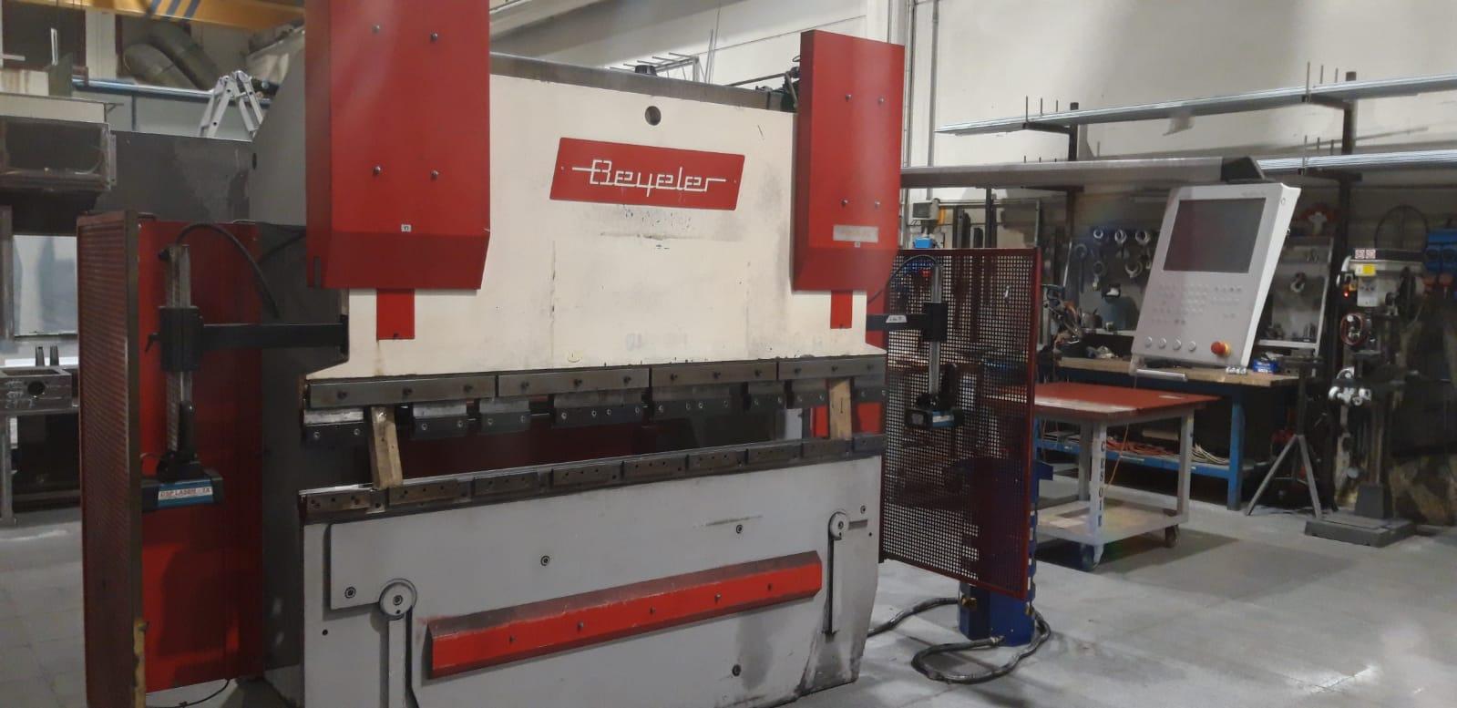 Pressa piegatrice idraulica Beyeler pr6 60/20 in vendita - foto 1