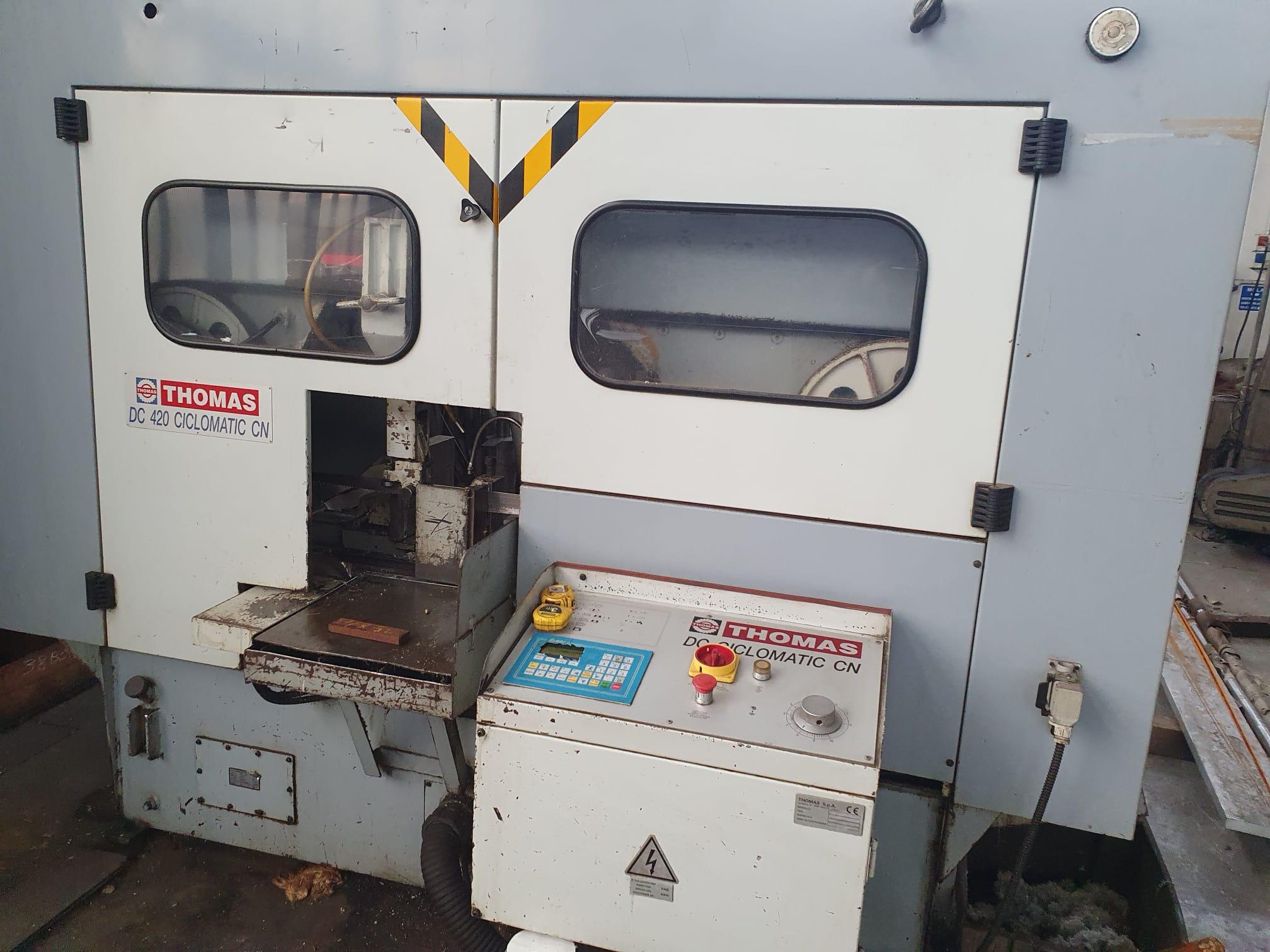 Segatrice Thomas Mod DC 420 ciclomatic CN in vendita - foto 3