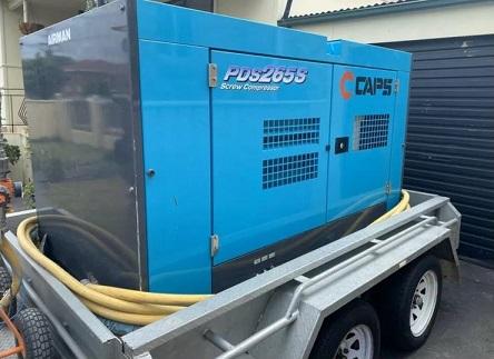 Compressore diesel AIRMAN PDS265S in vendita - foto 1