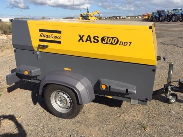 Compressore Atlas Copco XAS-300 DD7 in vendita - foto 1