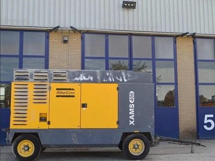 Compressore Atlas Copco XAMS 406 CD in vendita - foto 4
