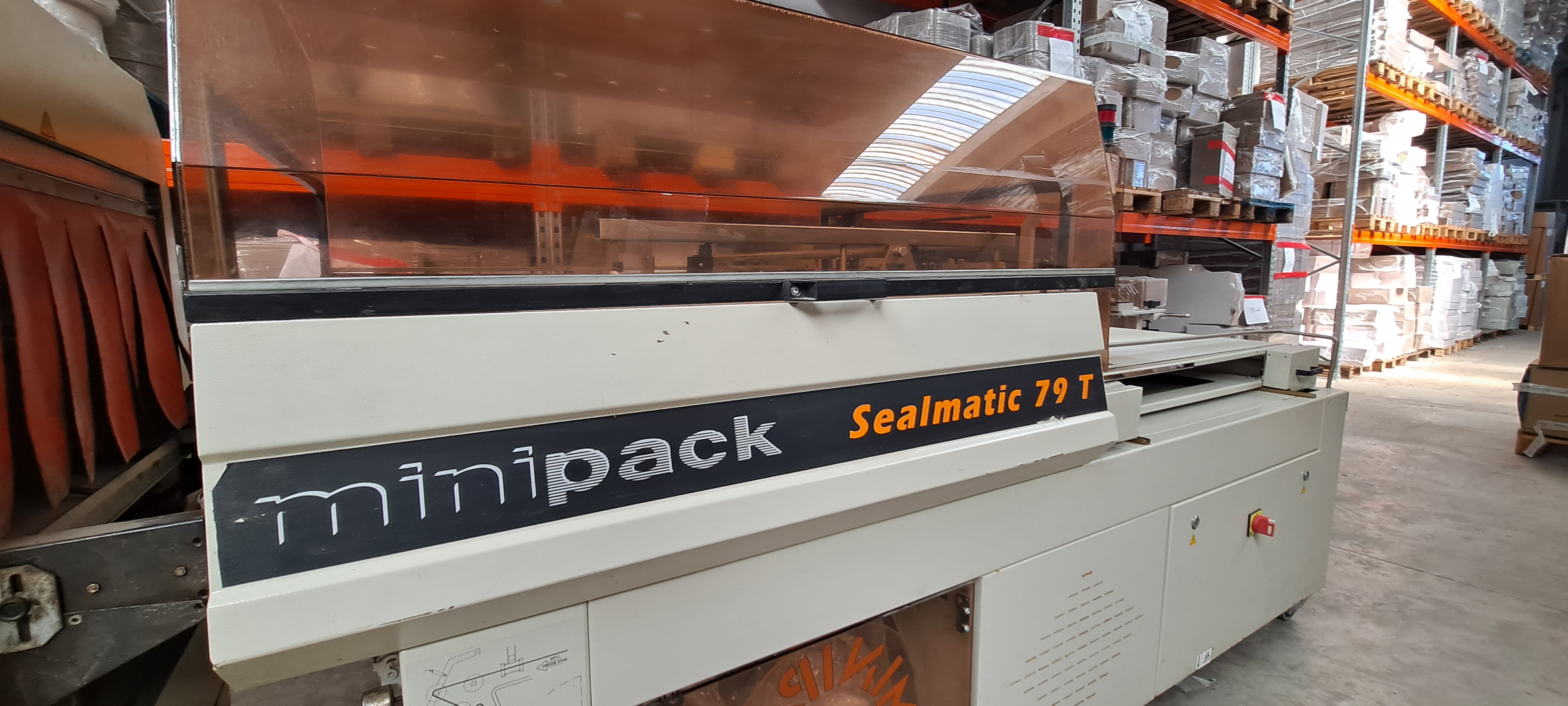 CONFEZIONATRICE AUTOMATICA SEALMATIC 79T CON TUNNEL in vendita - foto 2
