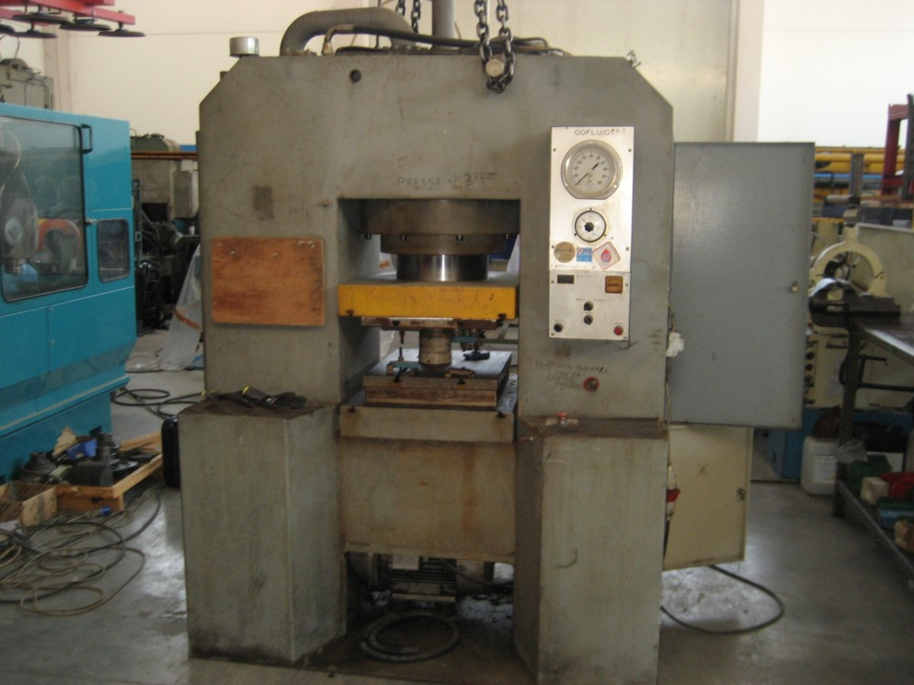 Pressa idraulica Cofluid 600 ton in vendita - foto 1
