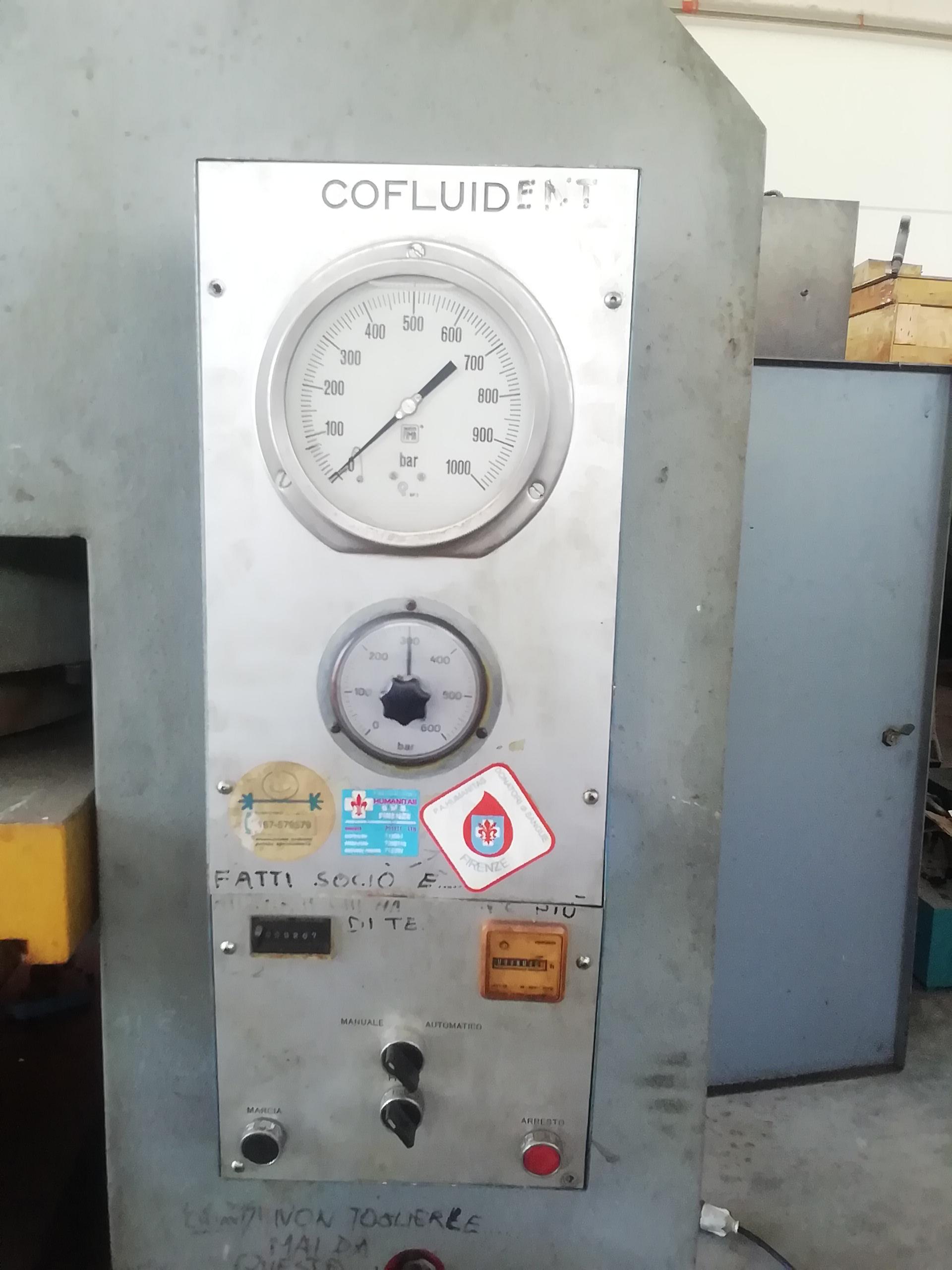 Pressa idraulica Cofluid 600 ton in vendita - foto 4