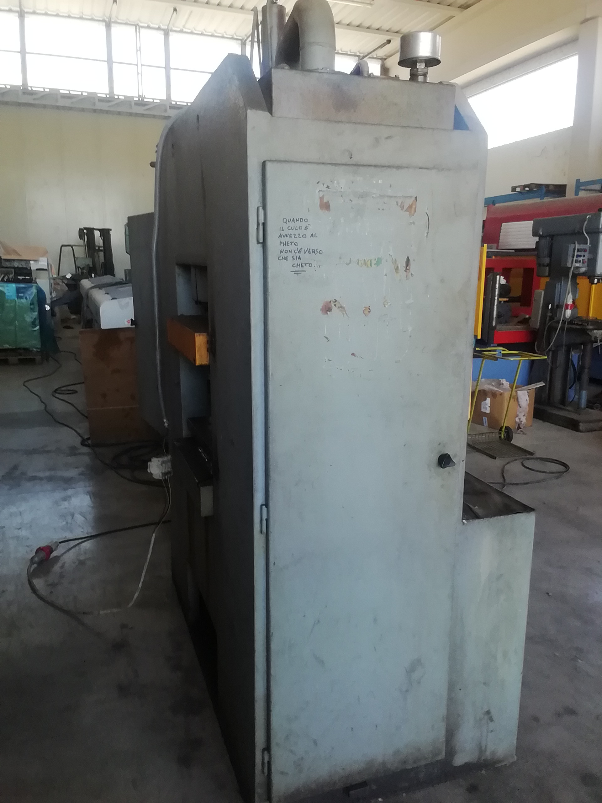 Pressa idraulica Cofluid 600 ton in vendita - foto 10