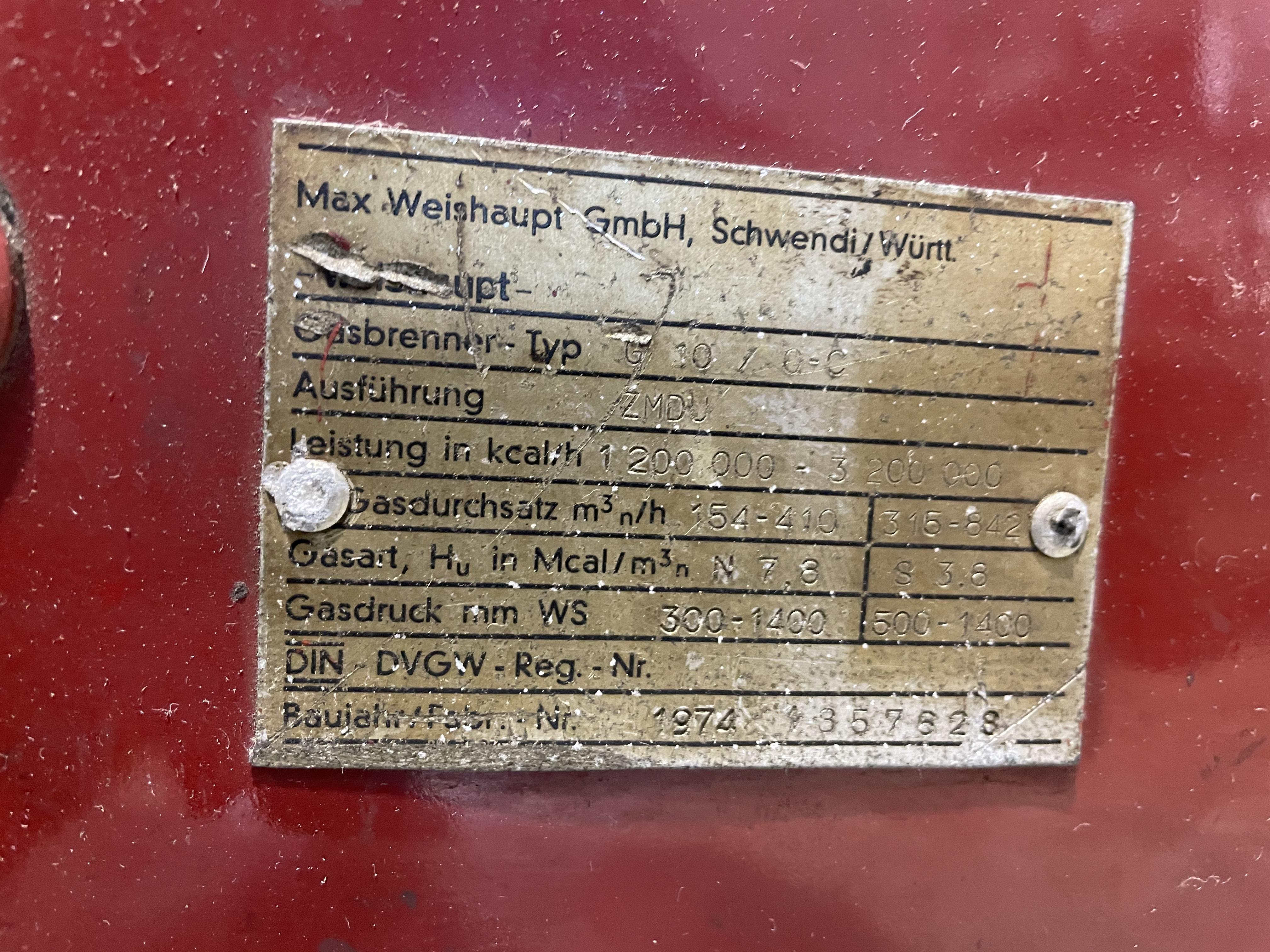 Bruciatore per caldaie gas WEISHAUPT in vendita - foto 3