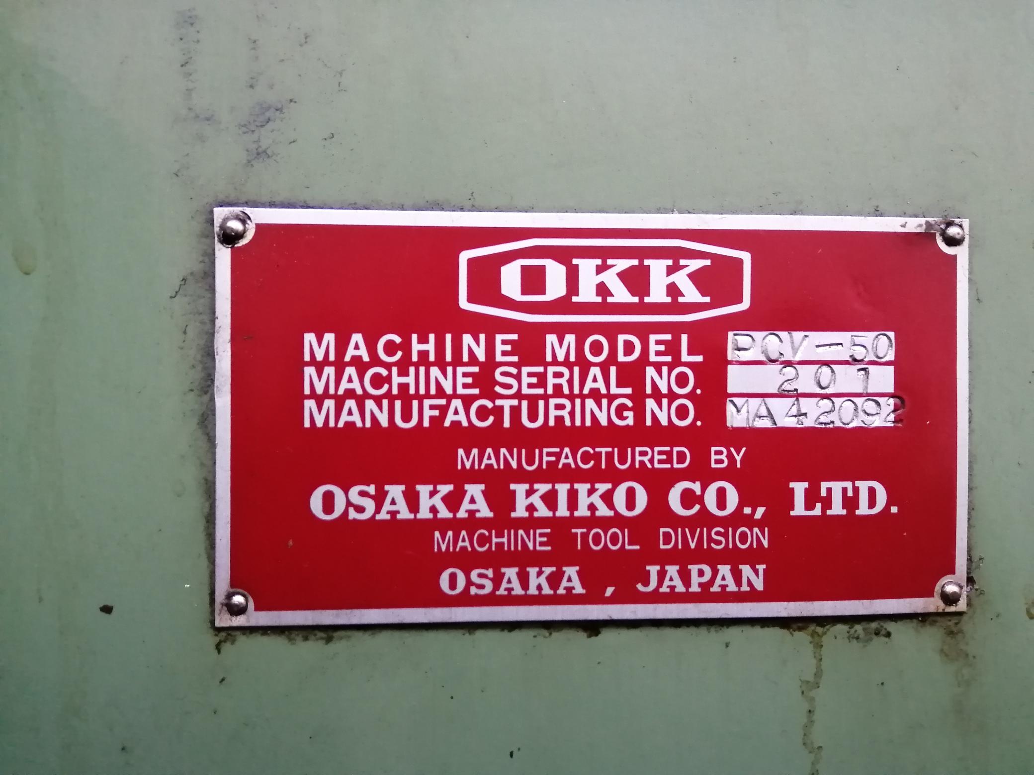 Centro di lavoro CNC Verticale Fresatrice Osaka Kiko in vendita - foto 4