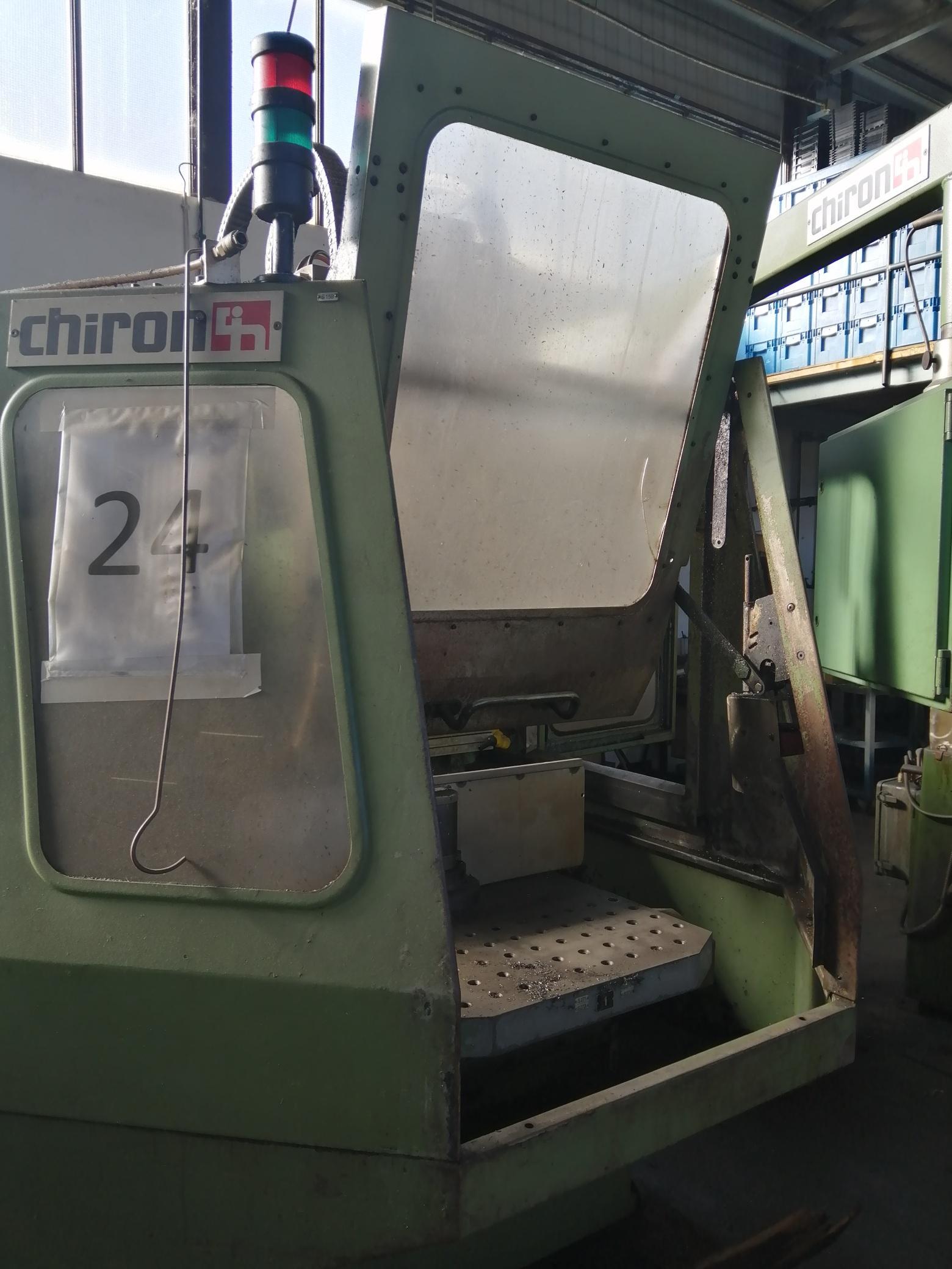Macchina Industriale CHIRON FZ16 NC con Sinumerik 810D in vendita - foto 6