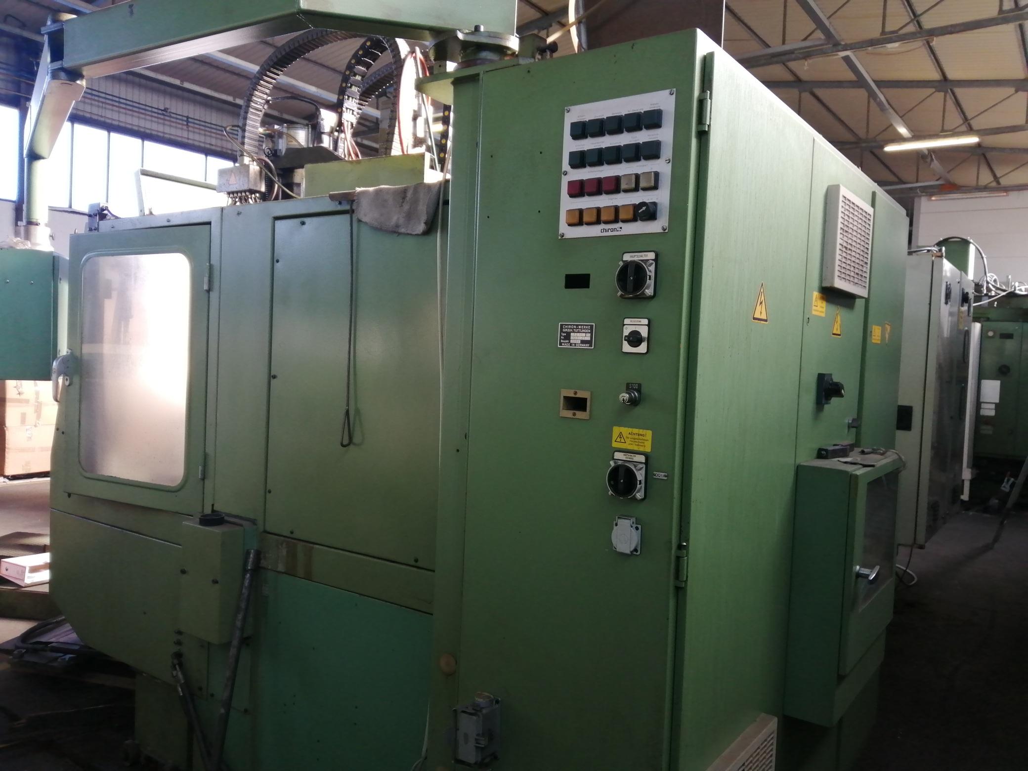 Macchina Industriale CHIRON FZ16 NC con Sinumerik 810D in vendita - foto 8