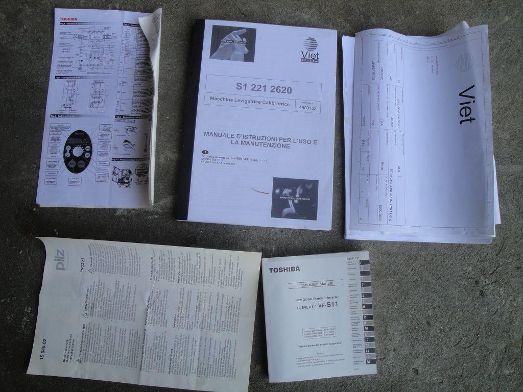 CALIBRATRICE con TESTA MOBILE - VIET S1 221 TM in vendita - foto 9