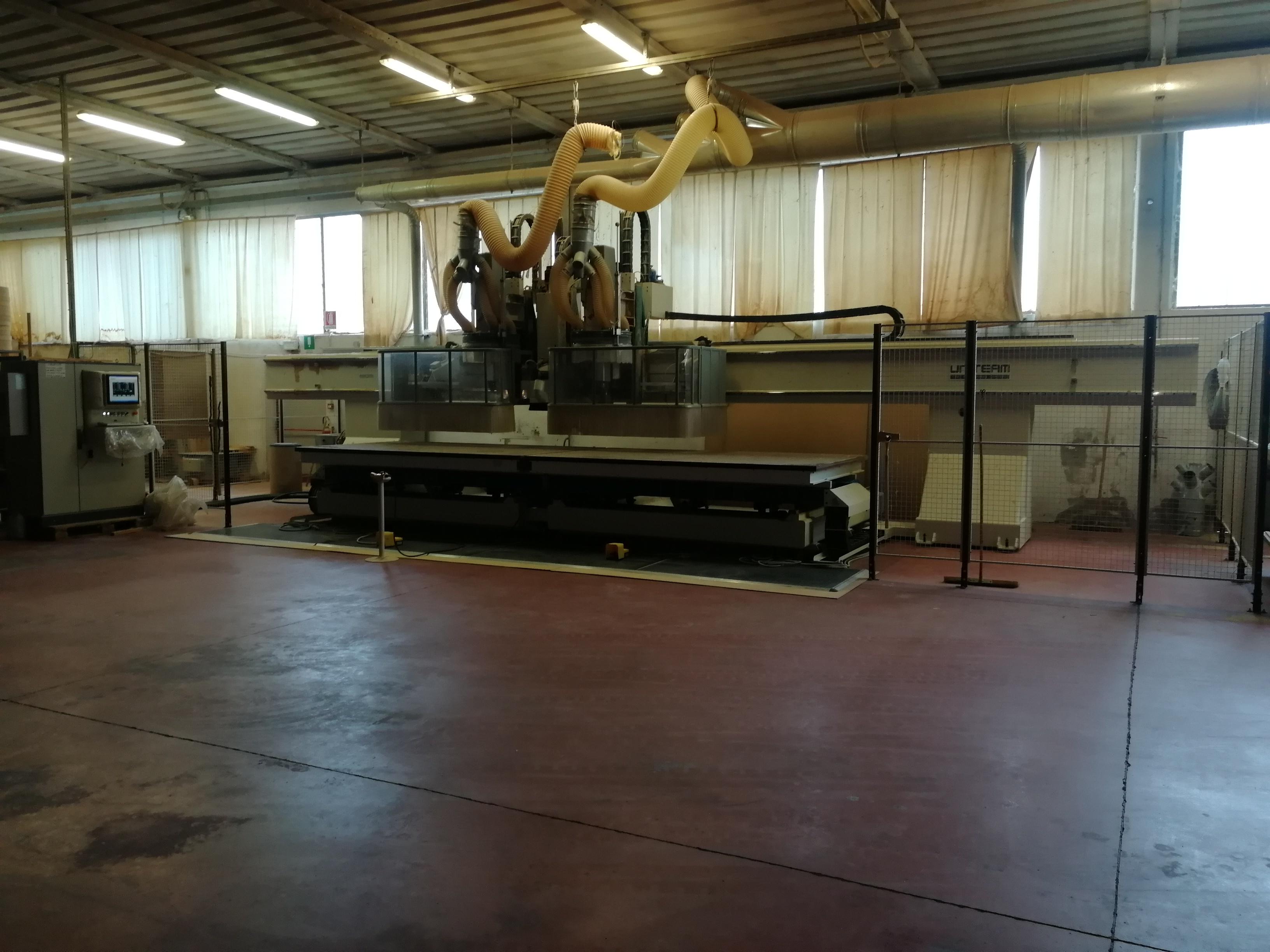 CNC DOPPIA TESTA 5 ASSI - UNITEAM MAJOR 2R/6016-430 in vendita - foto 1