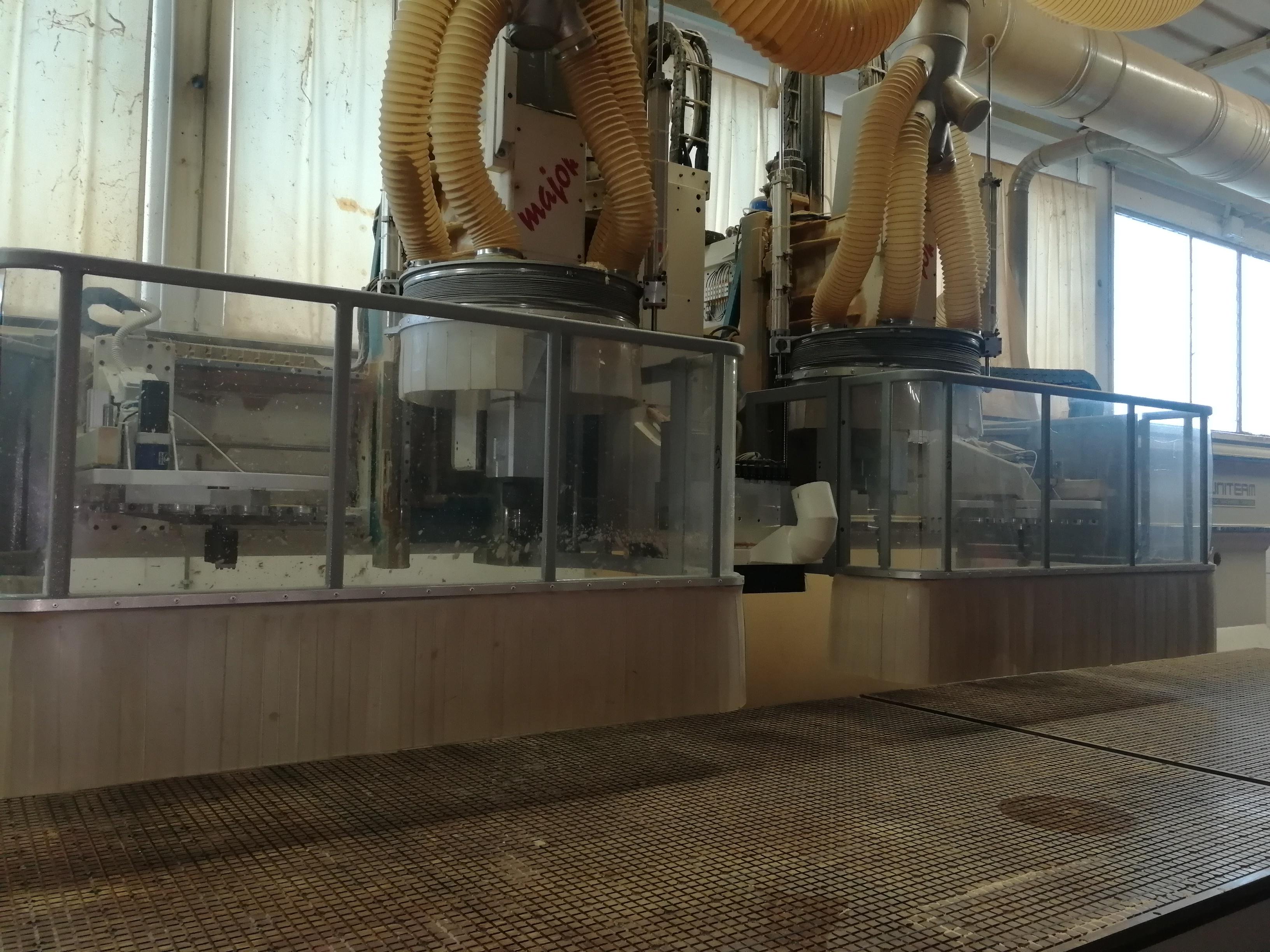CNC DOPPIA TESTA 5 ASSI - UNITEAM MAJOR 2R/6016-430 in vendita - foto 6