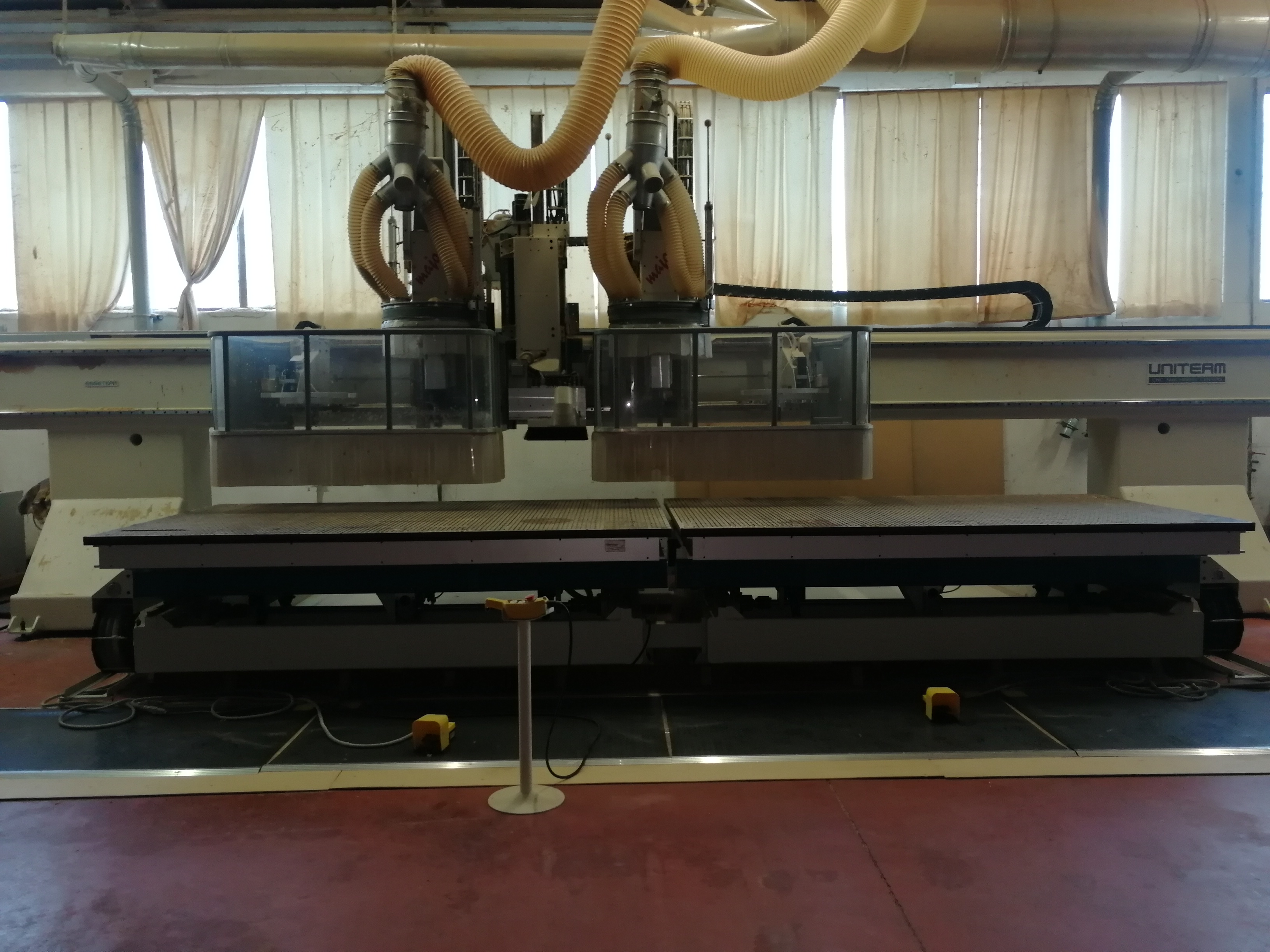 CNC DOPPIA TESTA 5 ASSI - UNITEAM MAJOR 2R/6016-430 in vendita - foto 3