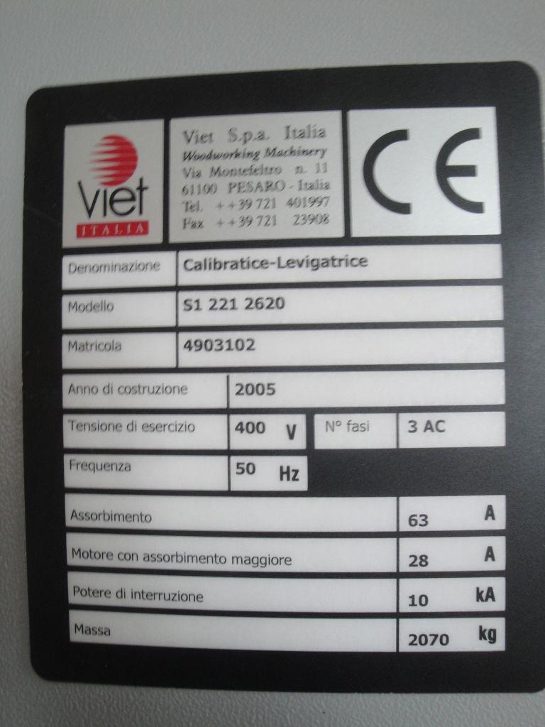 CALIBRATRICE con TESTA MOBILE - VIET S1 221 TM in vendita - foto 12