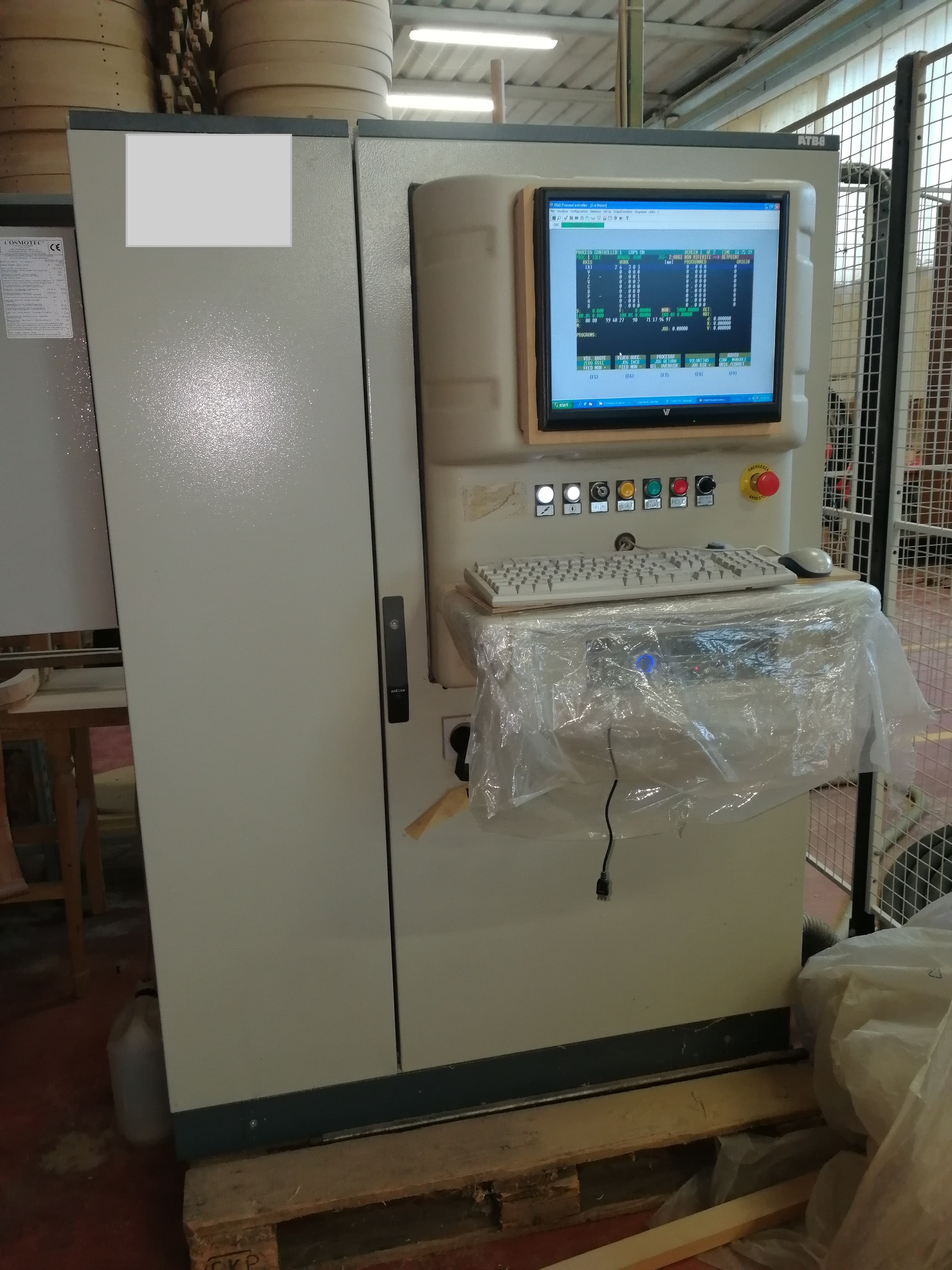 CNC DOPPIA TESTA 5 ASSI - UNITEAM MAJOR 2R/6016-430 in vendita - foto 5