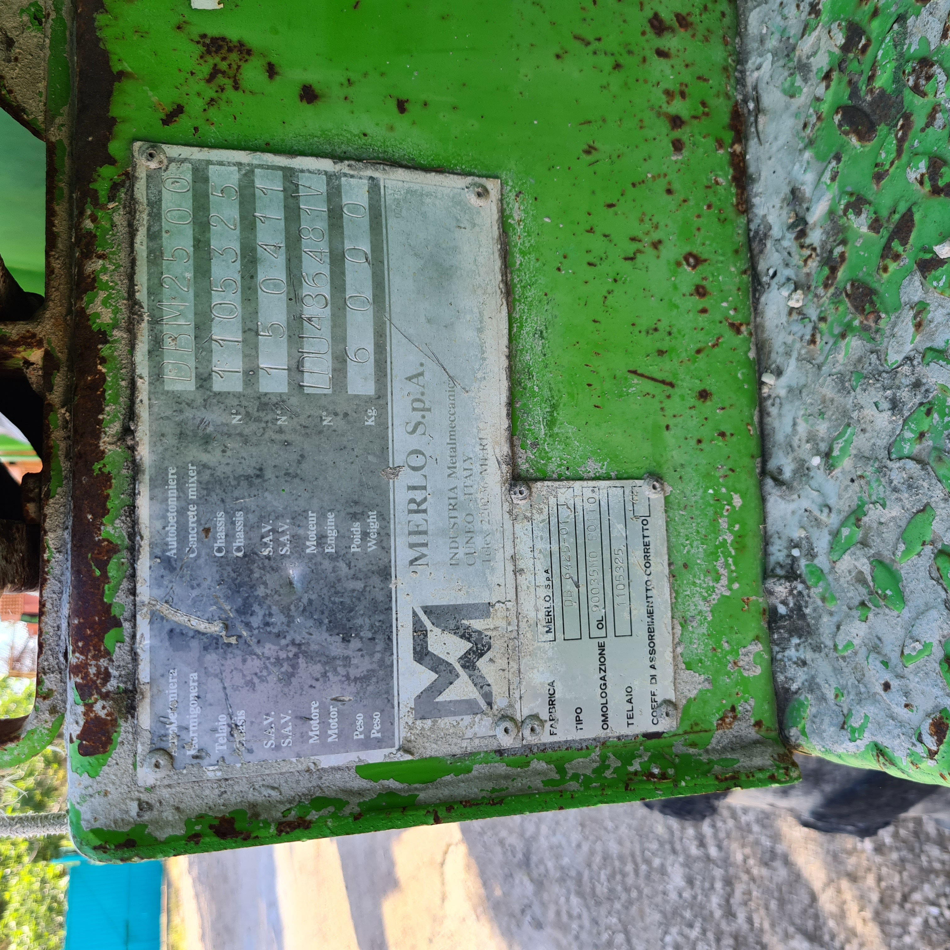 Merlo dumper betoniera dbm 2500 in vendita - foto 9